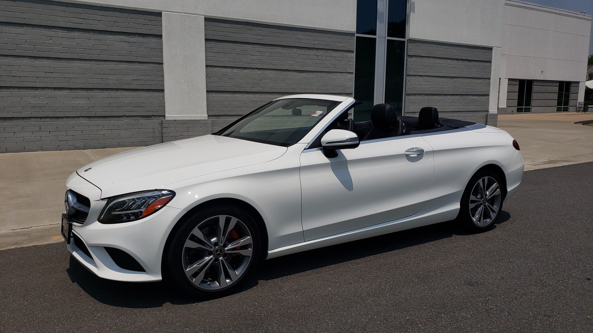 Used 2019 Mercedes-Benz C-CLASS C 300 CABRIOLET 2.0L / AUTO / NAV / HD RADIO / REARVIEW for sale $46,995 at Formula Imports in Charlotte NC 28227 1