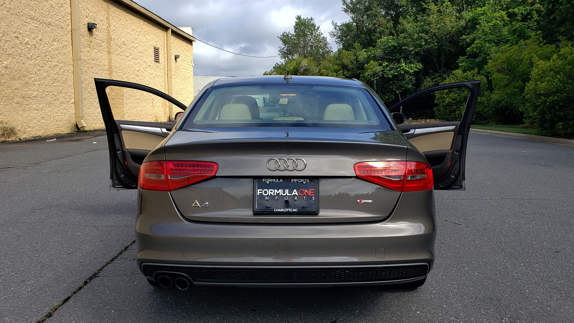 New 2014 Audi A4 PREMIUM / MULTITRONIC / FWD / SUNROOF / AUTO CLIMATE for sale Sold at Formula Imports in Charlotte NC 28227 21
