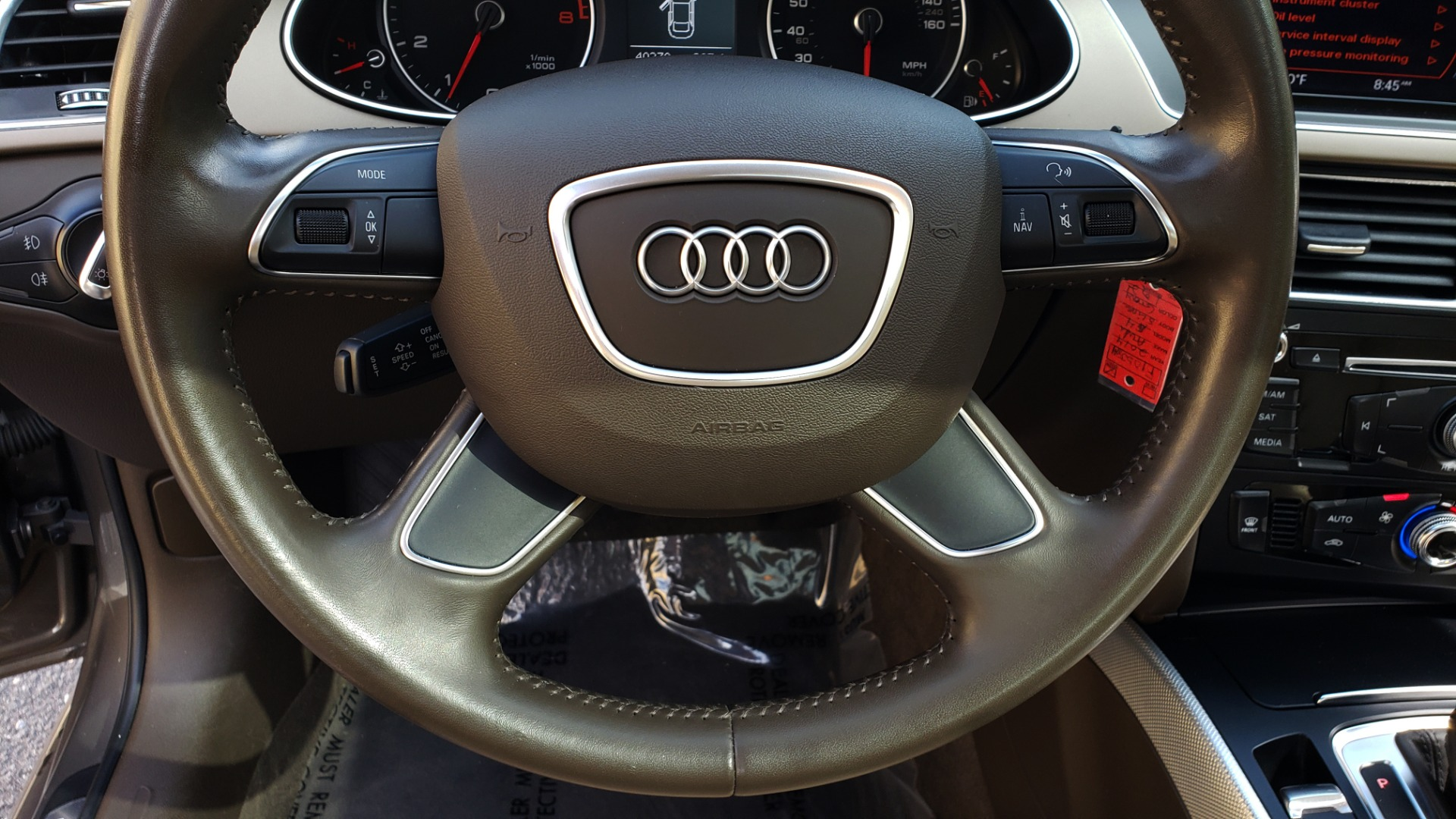 New 2014 Audi A4 PREMIUM / MULTITRONIC / FWD / SUNROOF / AUTO CLIMATE for sale Sold at Formula Imports in Charlotte NC 28227 30