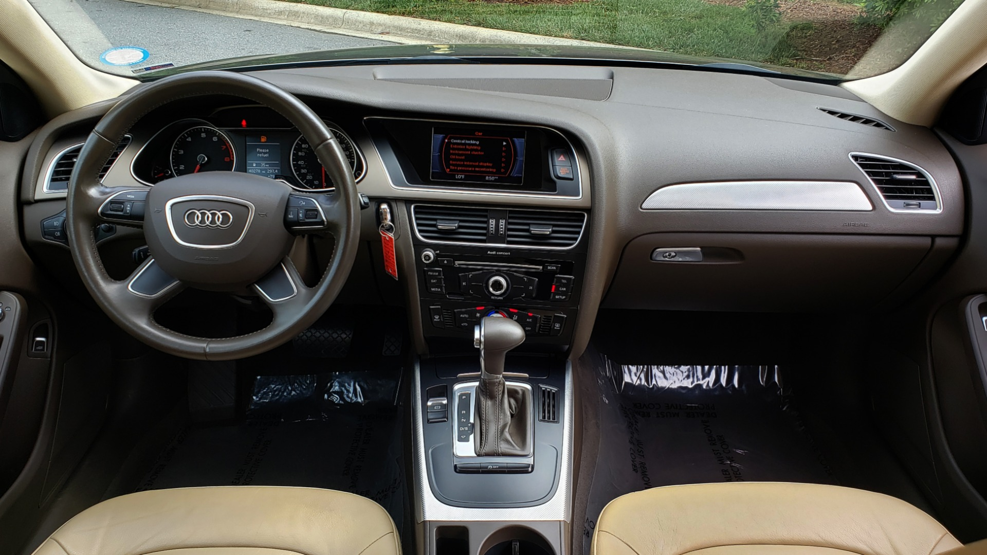 New 2014 Audi A4 PREMIUM / MULTITRONIC / FWD / SUNROOF / AUTO CLIMATE for sale Sold at Formula Imports in Charlotte NC 28227 55