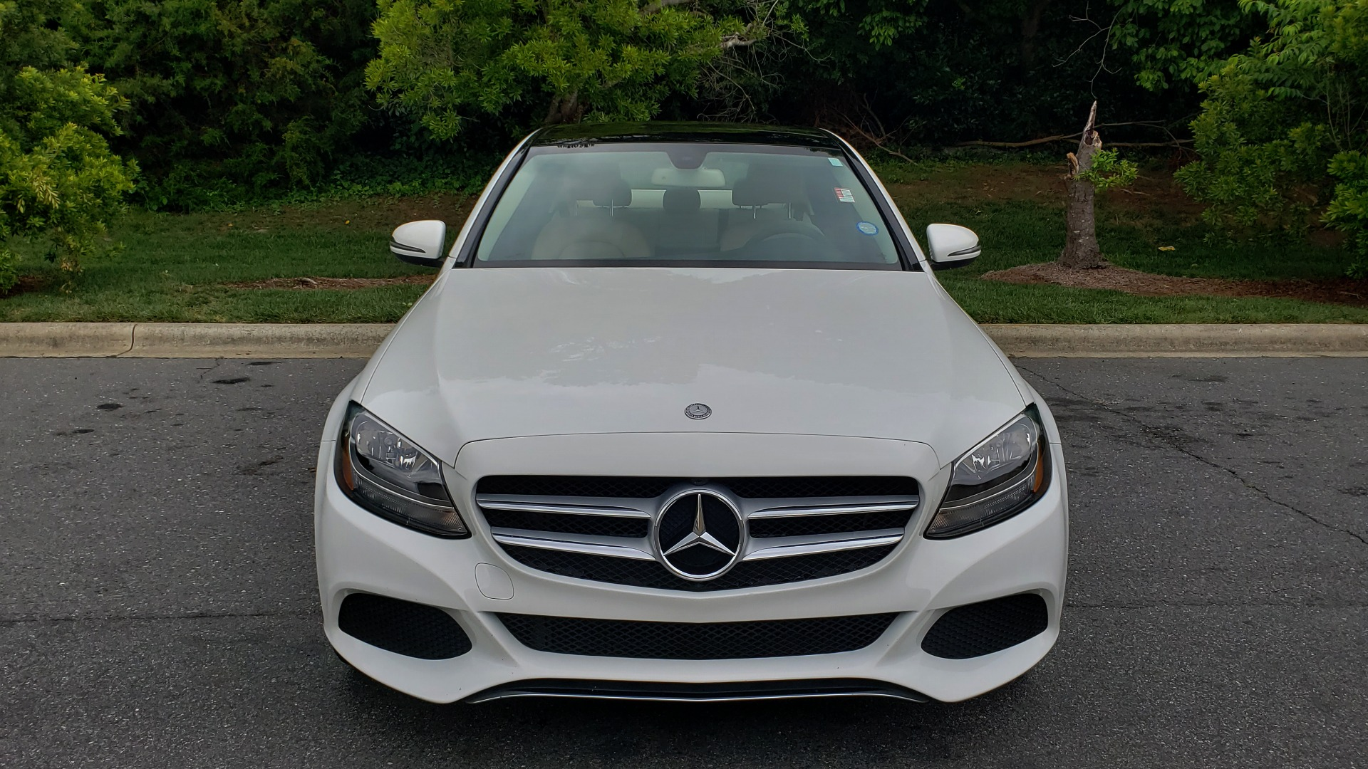 Used 2017 Mercedes-Benz C-CLASS C 300 PREMIUM SEDAN / NAV / PANO-ROOF / HTD STS / REARVIEW for sale Sold at Formula Imports in Charlotte NC 28227 22