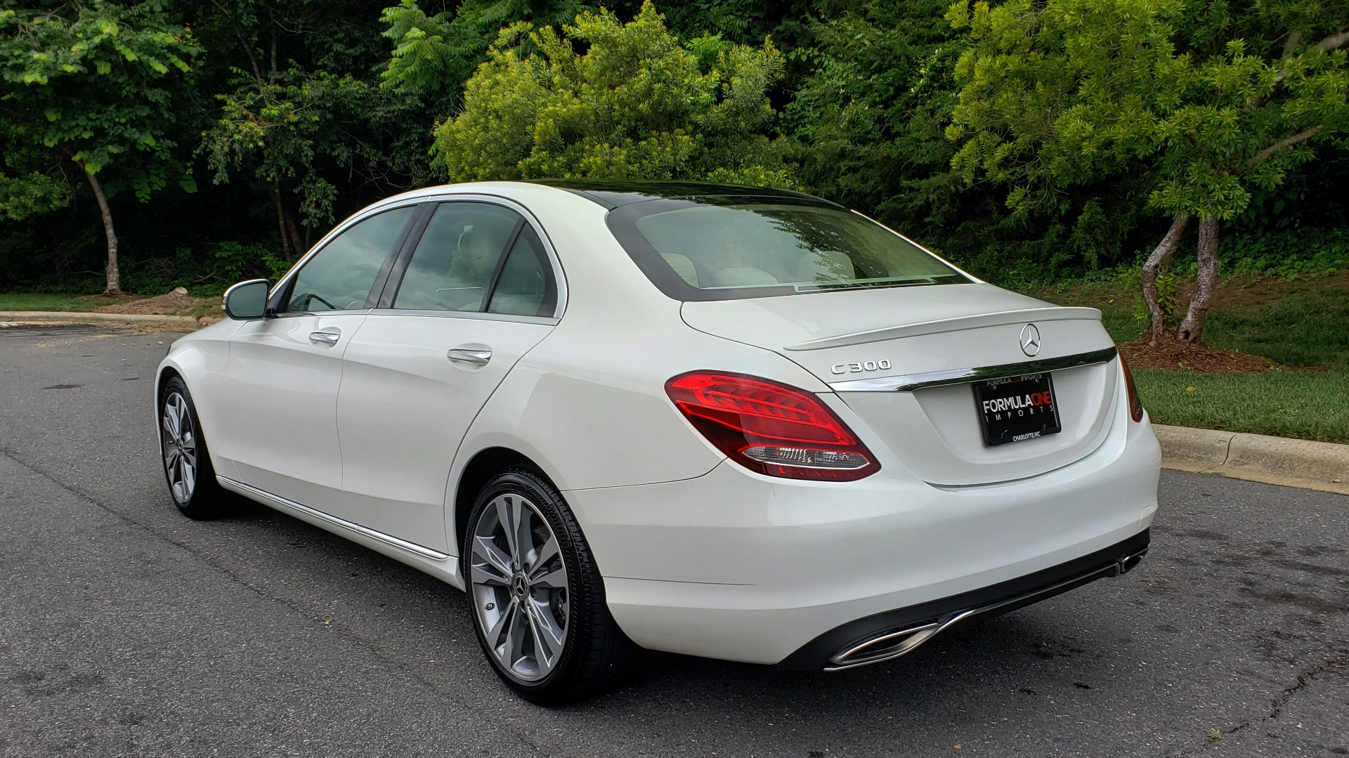 Used 2017 Mercedes-Benz C-CLASS C 300 PREMIUM SEDAN / NAV / PANO-ROOF / HTD STS / REARVIEW for sale Sold at Formula Imports in Charlotte NC 28227 3