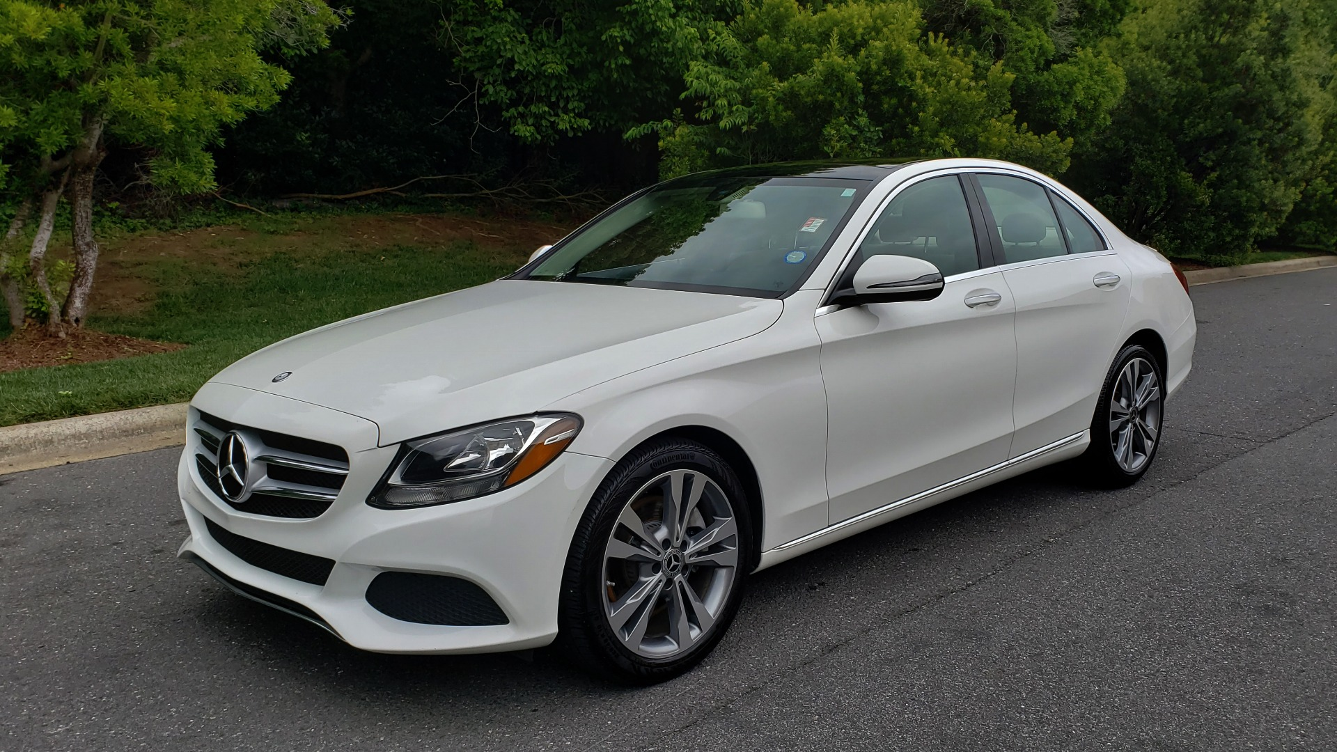 Used 2017 Mercedes-Benz C-CLASS C 300 PREMIUM SEDAN / NAV / PANO-ROOF / HTD STS / REARVIEW for sale Sold at Formula Imports in Charlotte NC 28227 1