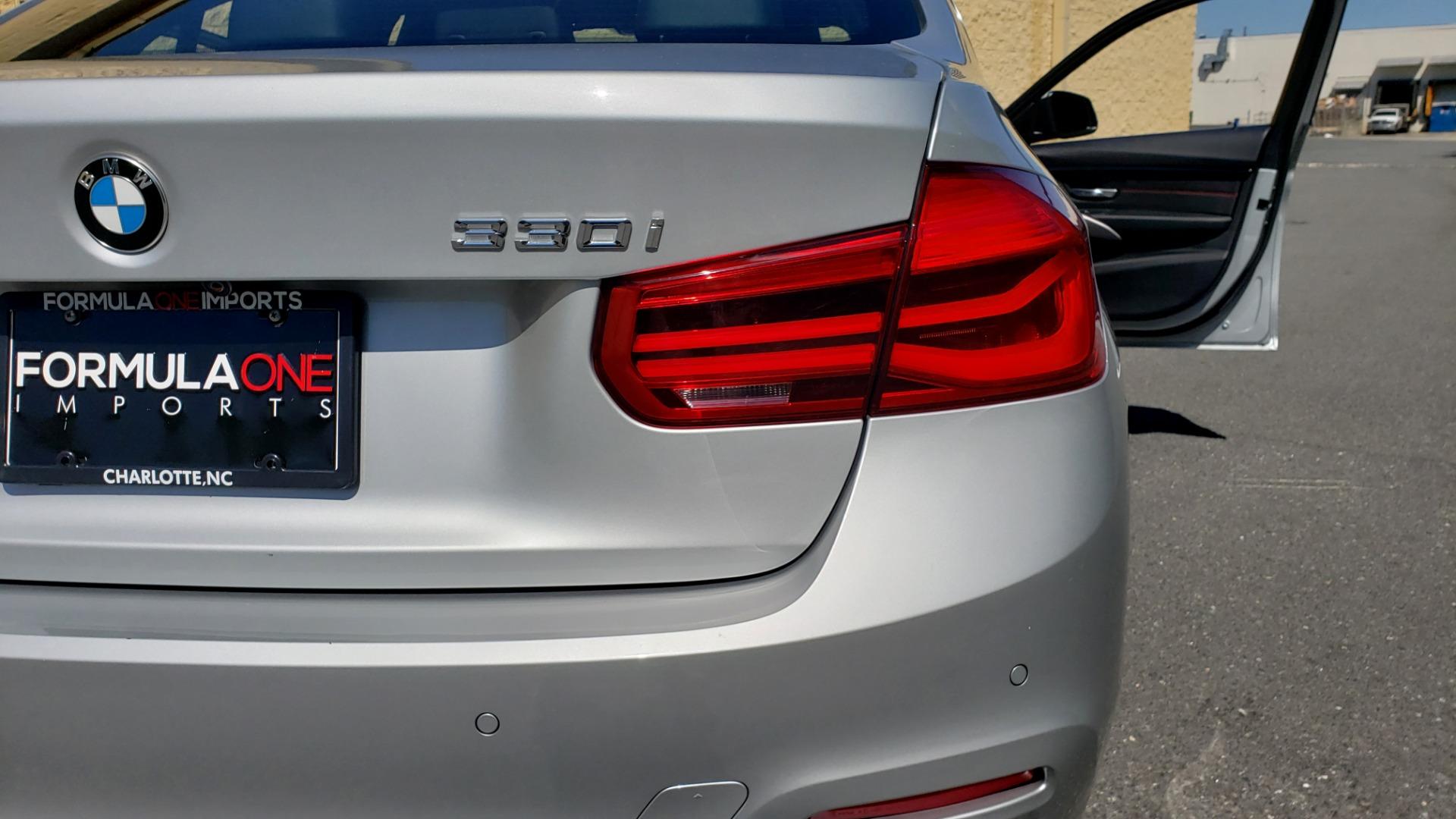 Used 2017 BMW 3 SERIES 330I SPORT SEDAN / DRVR ASST PKG / SUNROOF / REARVIEW for sale Sold at Formula Imports in Charlotte NC 28227 26