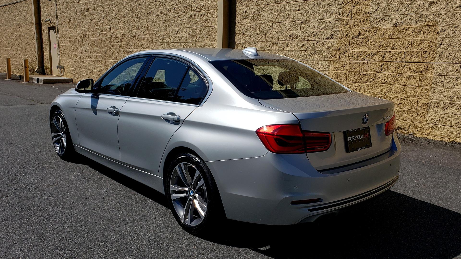 Used 2017 BMW 3 SERIES 330I SPORT SEDAN / DRVR ASST PKG / SUNROOF / REARVIEW for sale Sold at Formula Imports in Charlotte NC 28227 3