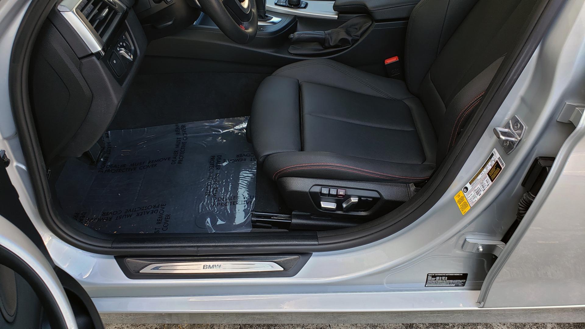 Used 2017 BMW 3 SERIES 330I SPORT SEDAN / DRVR ASST PKG / SUNROOF / REARVIEW for sale Sold at Formula Imports in Charlotte NC 28227 34