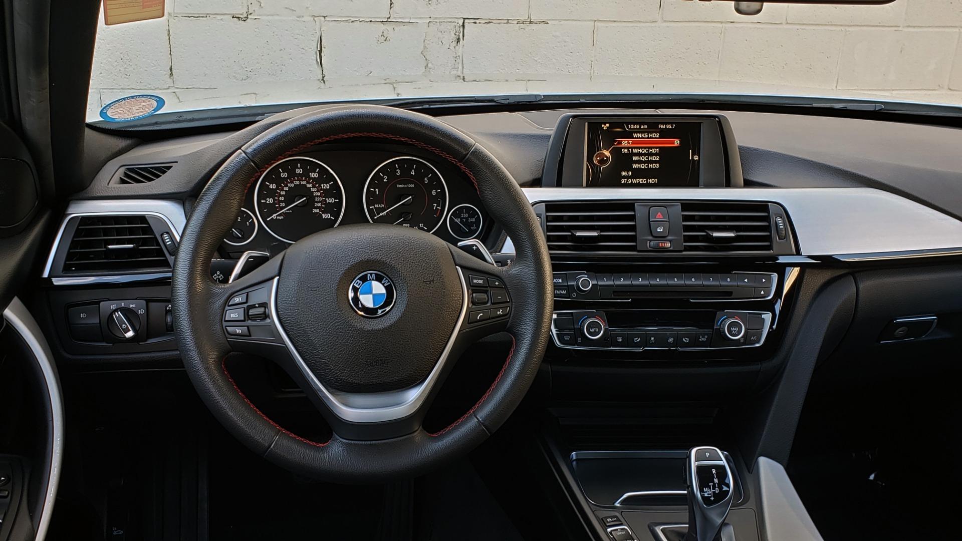 Used 2017 BMW 3 SERIES 330I SPORT SEDAN / DRVR ASST PKG / SUNROOF / REARVIEW for sale Sold at Formula Imports in Charlotte NC 28227 37