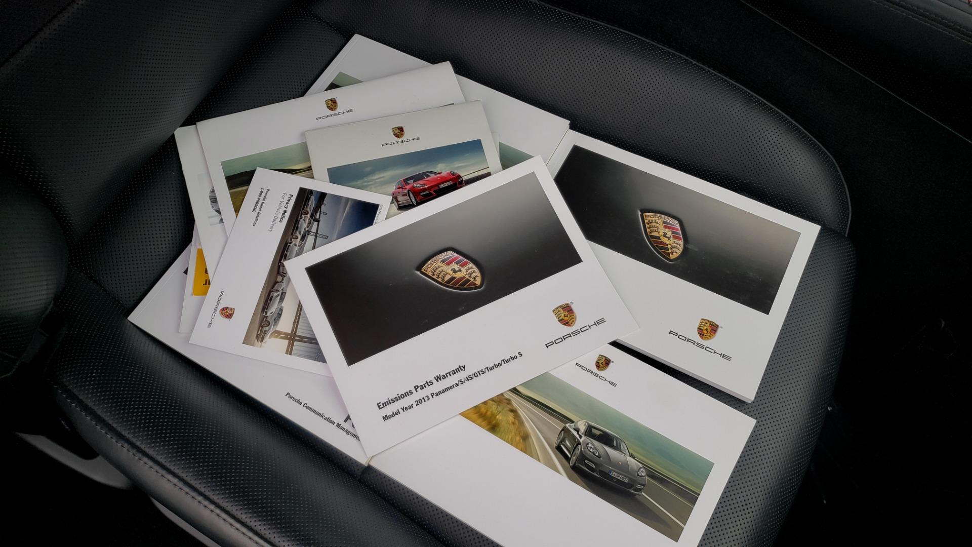 Used 2013 Porsche PANAMERA TURBO 4.8L V8 / AWD / NAV / SUNROOF / LCA / PARK ASST / BURMESTER for sale $45,995 at Formula Imports in Charlotte NC 28227 101