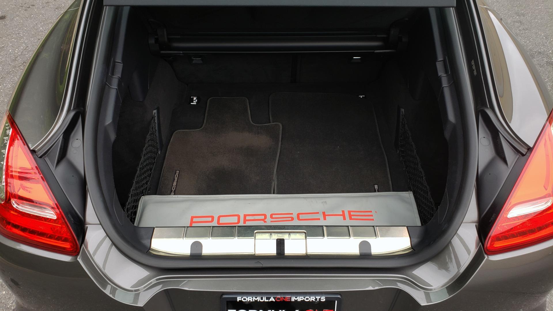 Used 2013 Porsche PANAMERA TURBO 4.8L V8 / AWD / NAV / SUNROOF / LCA / PARK ASST / BURMESTER for sale $45,995 at Formula Imports in Charlotte NC 28227 15
