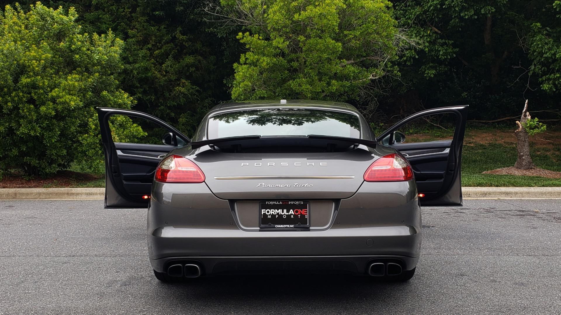 Used 2013 Porsche PANAMERA TURBO 4.8L V8 / AWD / NAV / SUNROOF / LCA / PARK ASST / BURMESTER for sale $45,995 at Formula Imports in Charlotte NC 28227 25