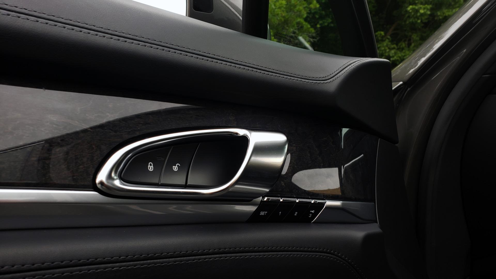 Used 2013 Porsche PANAMERA TURBO 4.8L V8 / AWD / NAV / SUNROOF / LCA / PARK ASST / BURMESTER for sale $45,995 at Formula Imports in Charlotte NC 28227 30