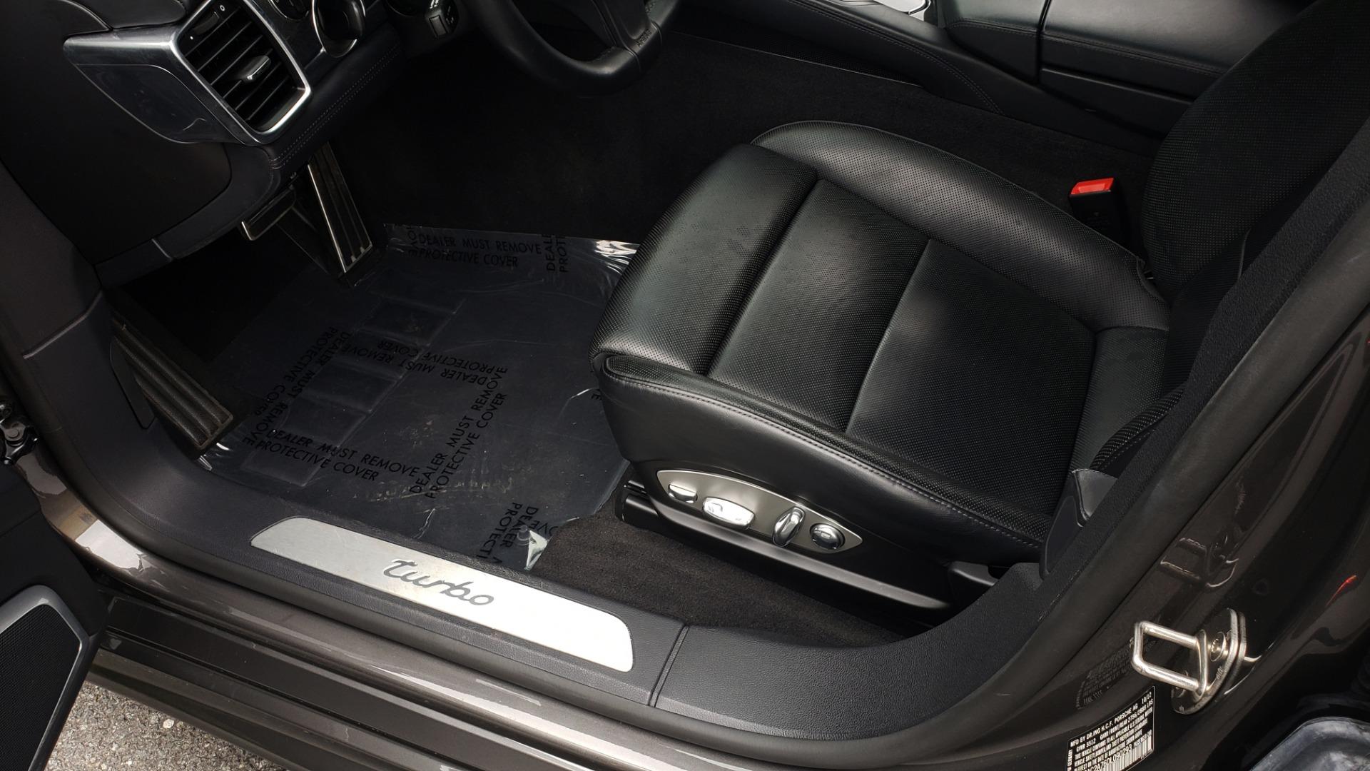 Used 2013 Porsche PANAMERA TURBO 4.8L V8 / AWD / NAV / SUNROOF / LCA / PARK ASST / BURMESTER for sale $45,995 at Formula Imports in Charlotte NC 28227 33