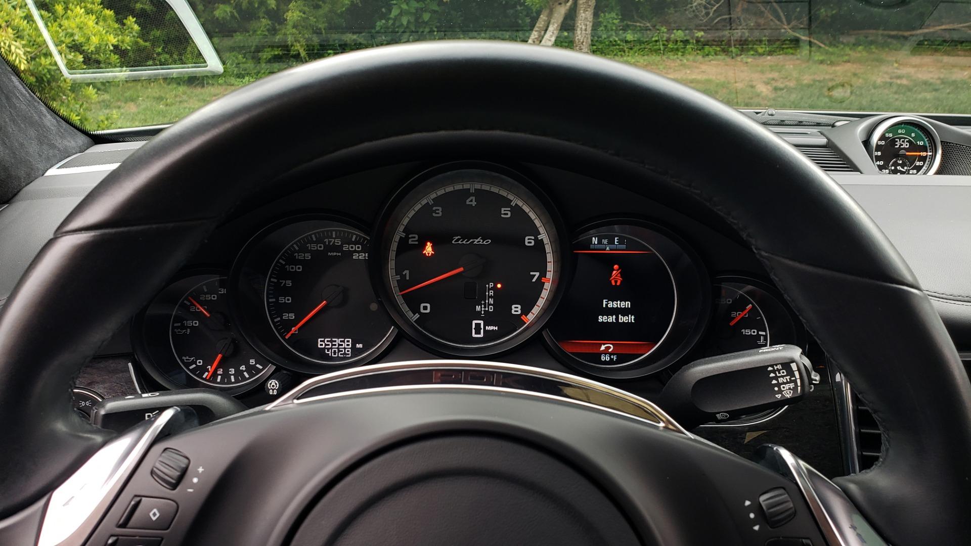 Used 2013 Porsche PANAMERA TURBO 4.8L V8 / AWD / NAV / SUNROOF / LCA / PARK ASST / BURMESTER for sale $45,995 at Formula Imports in Charlotte NC 28227 43