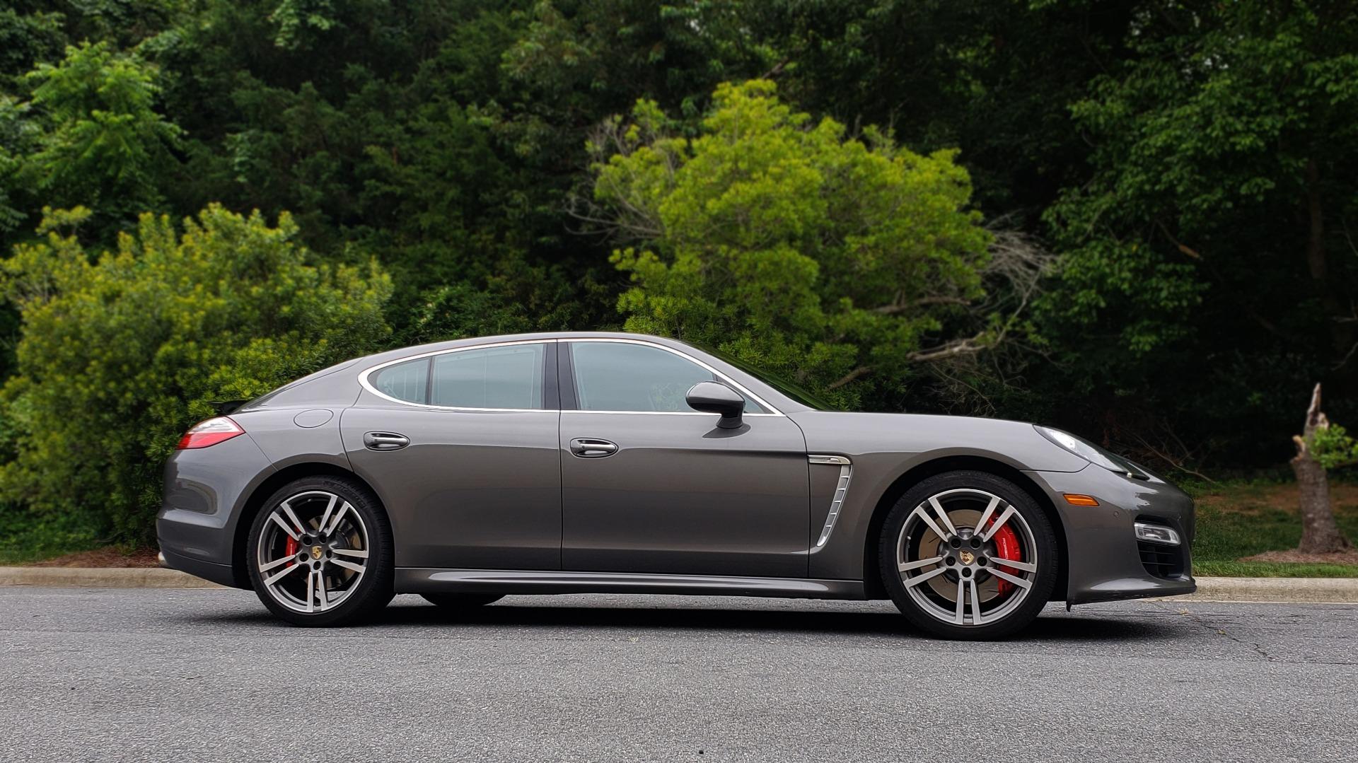 Used 2013 Porsche PANAMERA TURBO 4.8L V8 / AWD / NAV / SUNROOF / LCA / PARK ASST / BURMESTER for sale $45,995 at Formula Imports in Charlotte NC 28227 5
