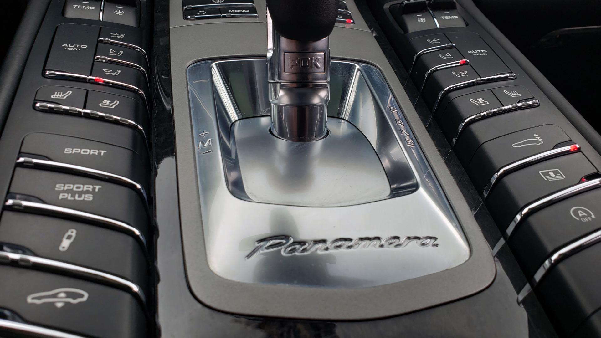 Used 2013 Porsche PANAMERA TURBO 4.8L V8 / AWD / NAV / SUNROOF / LCA / PARK ASST / BURMESTER for sale $45,995 at Formula Imports in Charlotte NC 28227 51