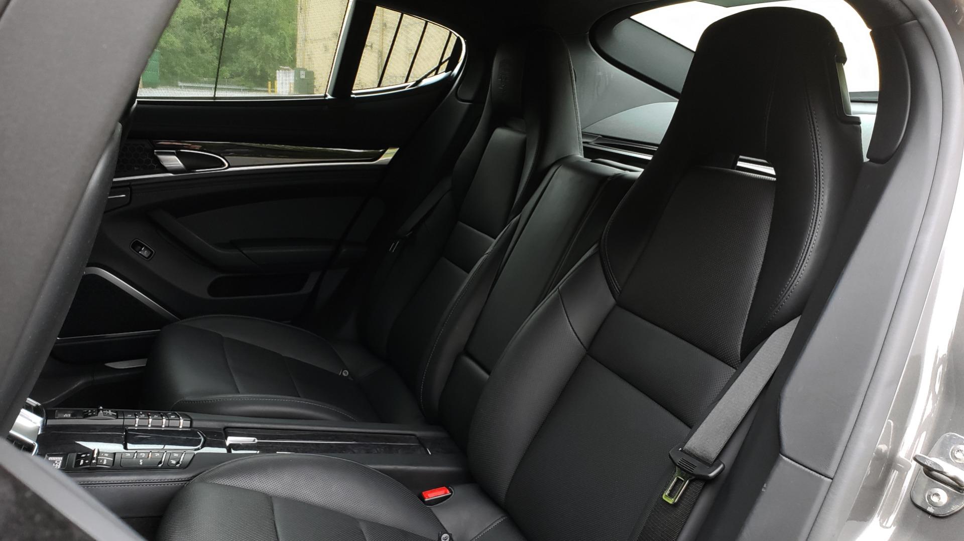 Used 2013 Porsche PANAMERA TURBO 4.8L V8 / AWD / NAV / SUNROOF / LCA / PARK ASST / BURMESTER for sale $45,995 at Formula Imports in Charlotte NC 28227 65