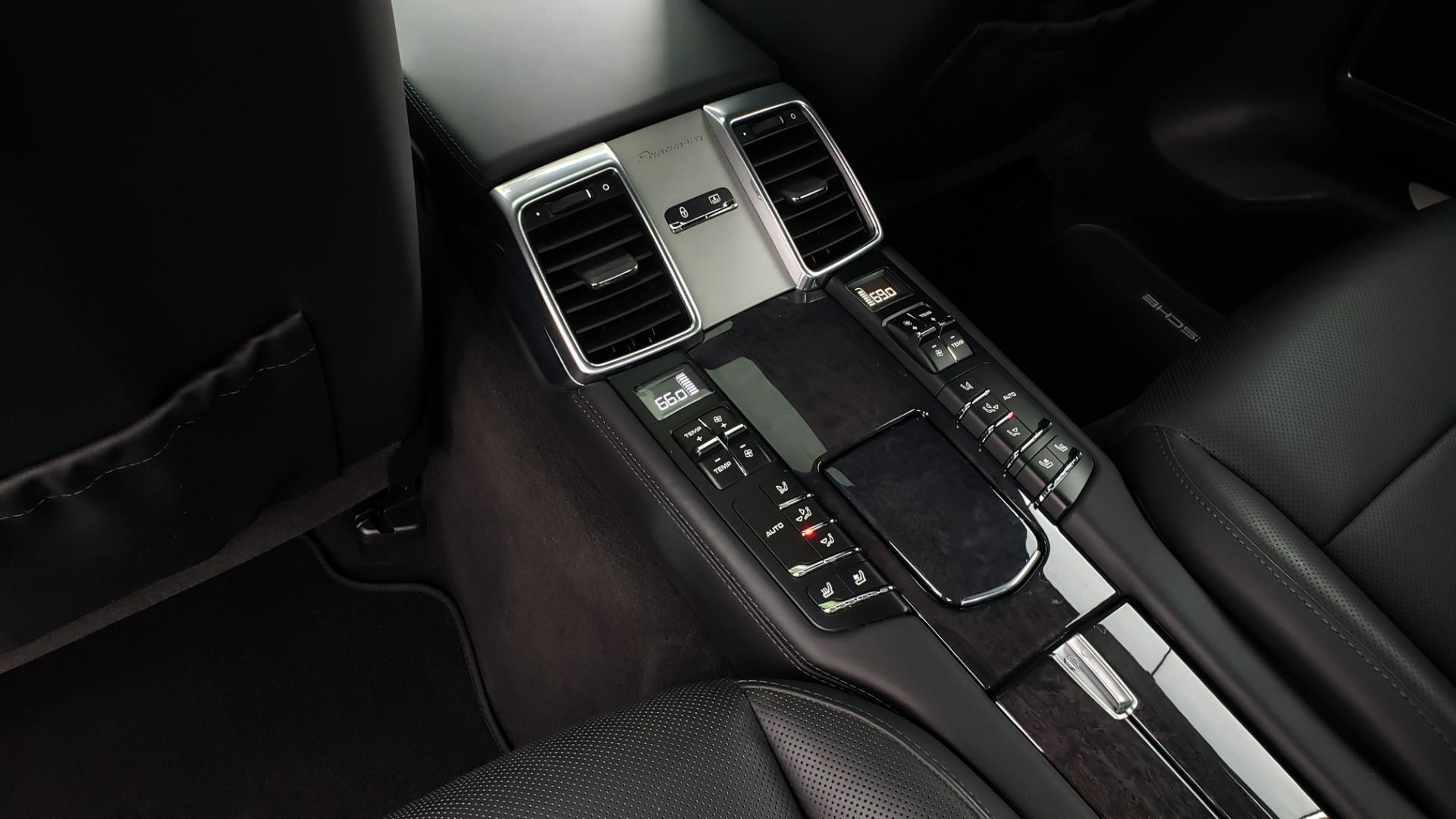 Used 2013 Porsche PANAMERA TURBO 4.8L V8 / AWD / NAV / SUNROOF / LCA / PARK ASST / BURMESTER for sale $45,995 at Formula Imports in Charlotte NC 28227 66