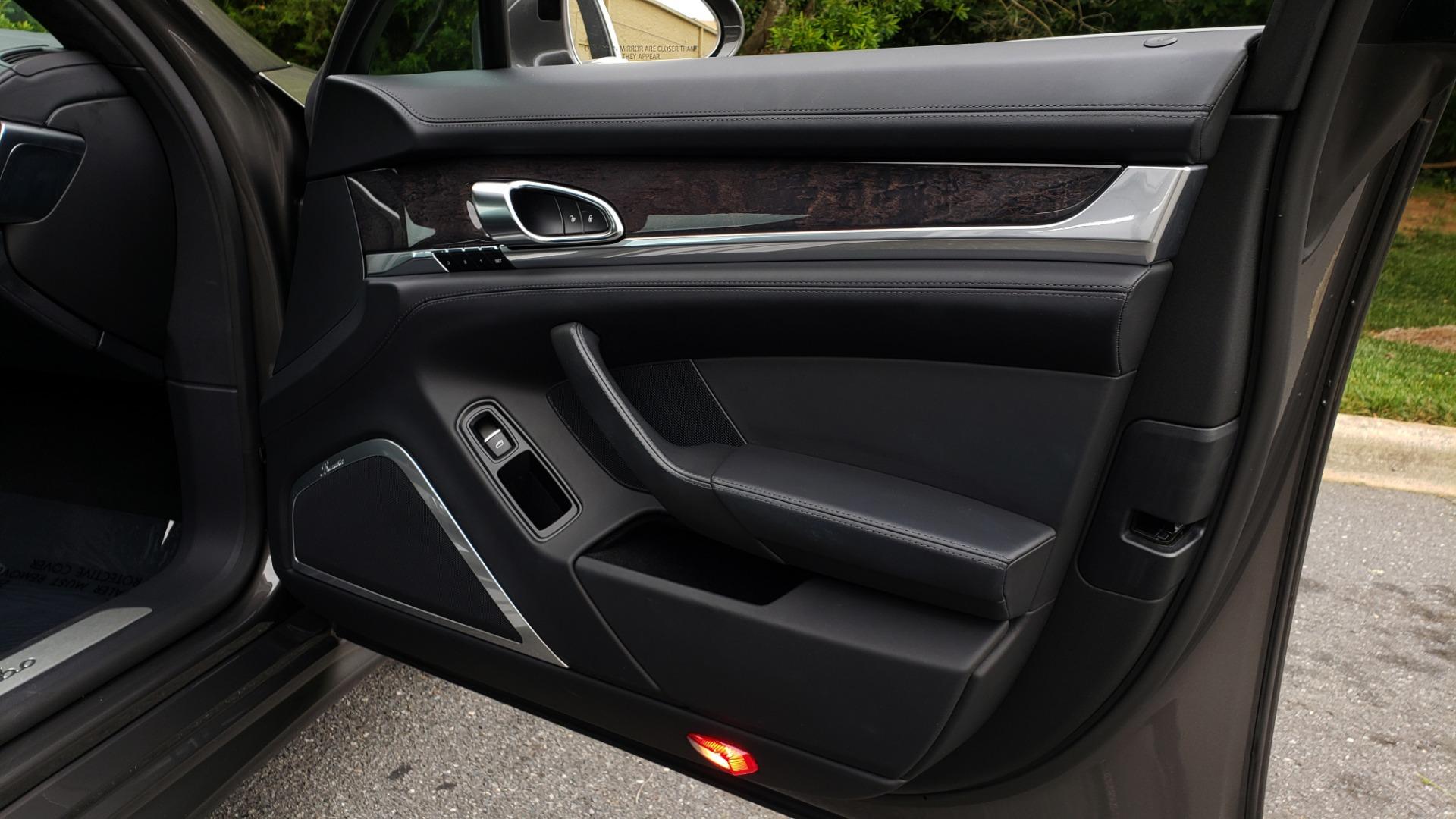 Used 2013 Porsche PANAMERA TURBO 4.8L V8 / AWD / NAV / SUNROOF / LCA / PARK ASST / BURMESTER for sale $45,995 at Formula Imports in Charlotte NC 28227 68