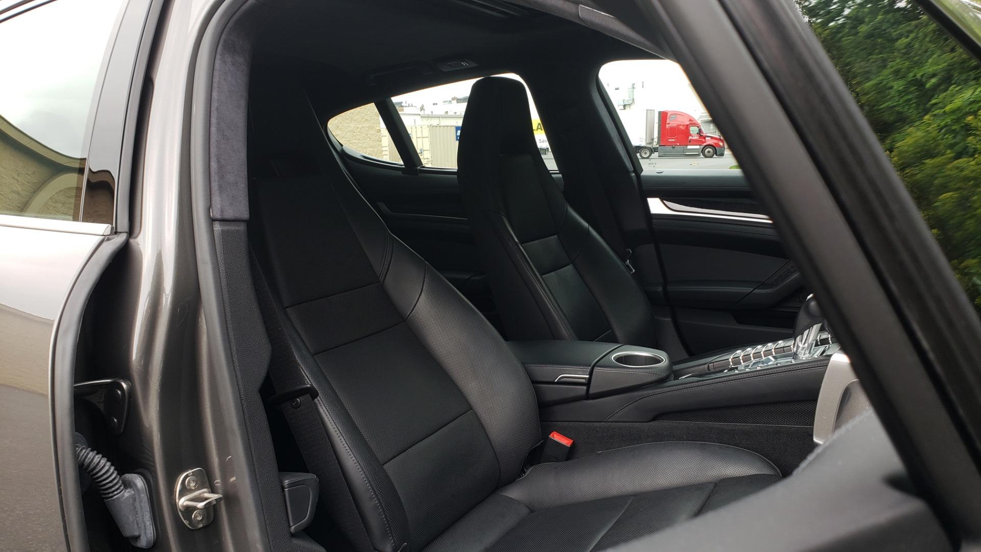 Used 2013 Porsche PANAMERA TURBO 4.8L V8 / AWD / NAV / SUNROOF / LCA / PARK ASST / BURMESTER for sale $45,995 at Formula Imports in Charlotte NC 28227 72