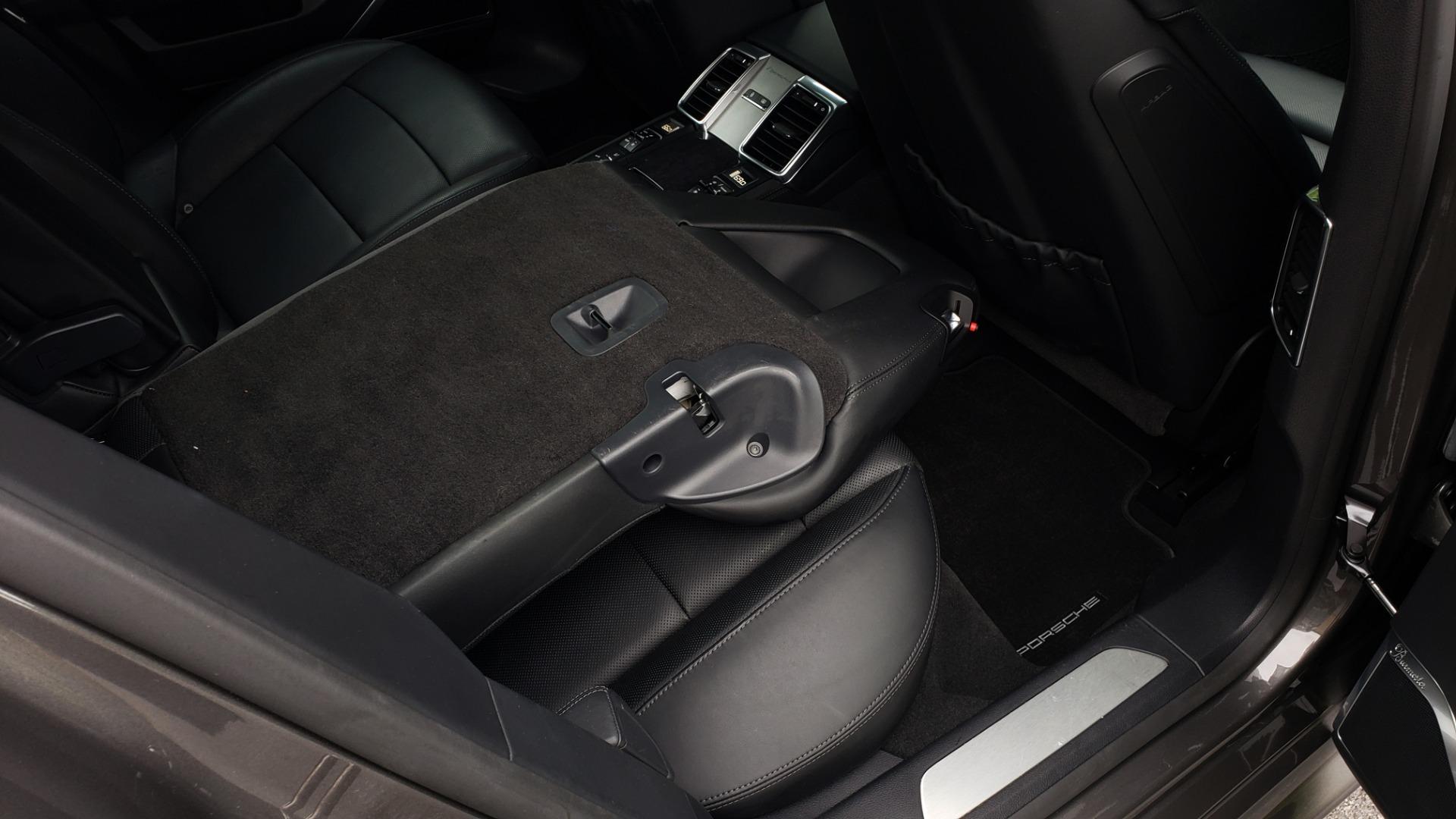 Used 2013 Porsche PANAMERA TURBO 4.8L V8 / AWD / NAV / SUNROOF / LCA / PARK ASST / BURMESTER for sale $45,995 at Formula Imports in Charlotte NC 28227 78