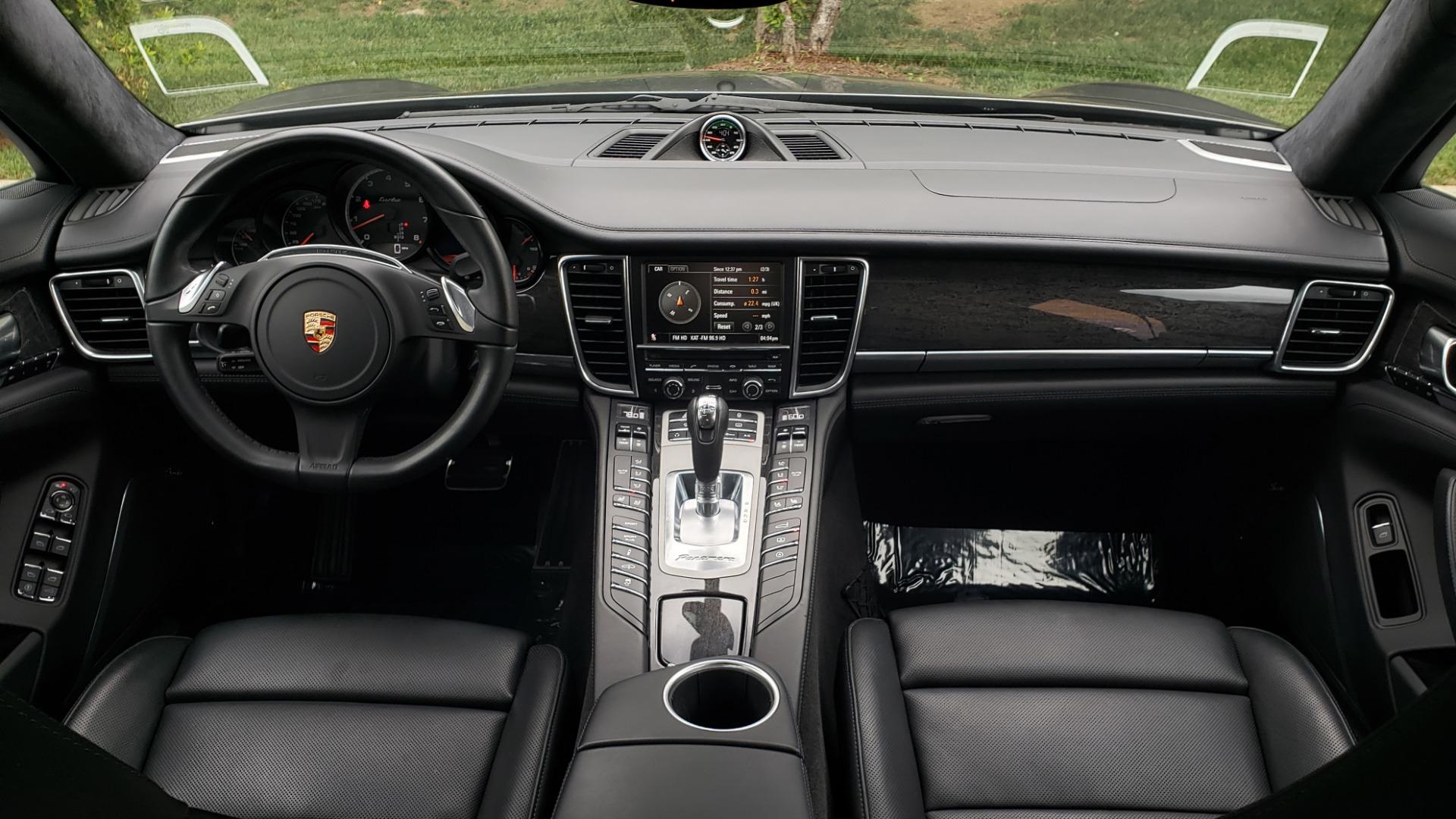 Used 2013 Porsche PANAMERA TURBO 4.8L V8 / AWD / NAV / SUNROOF / LCA / PARK ASST / BURMESTER for sale $45,995 at Formula Imports in Charlotte NC 28227 86