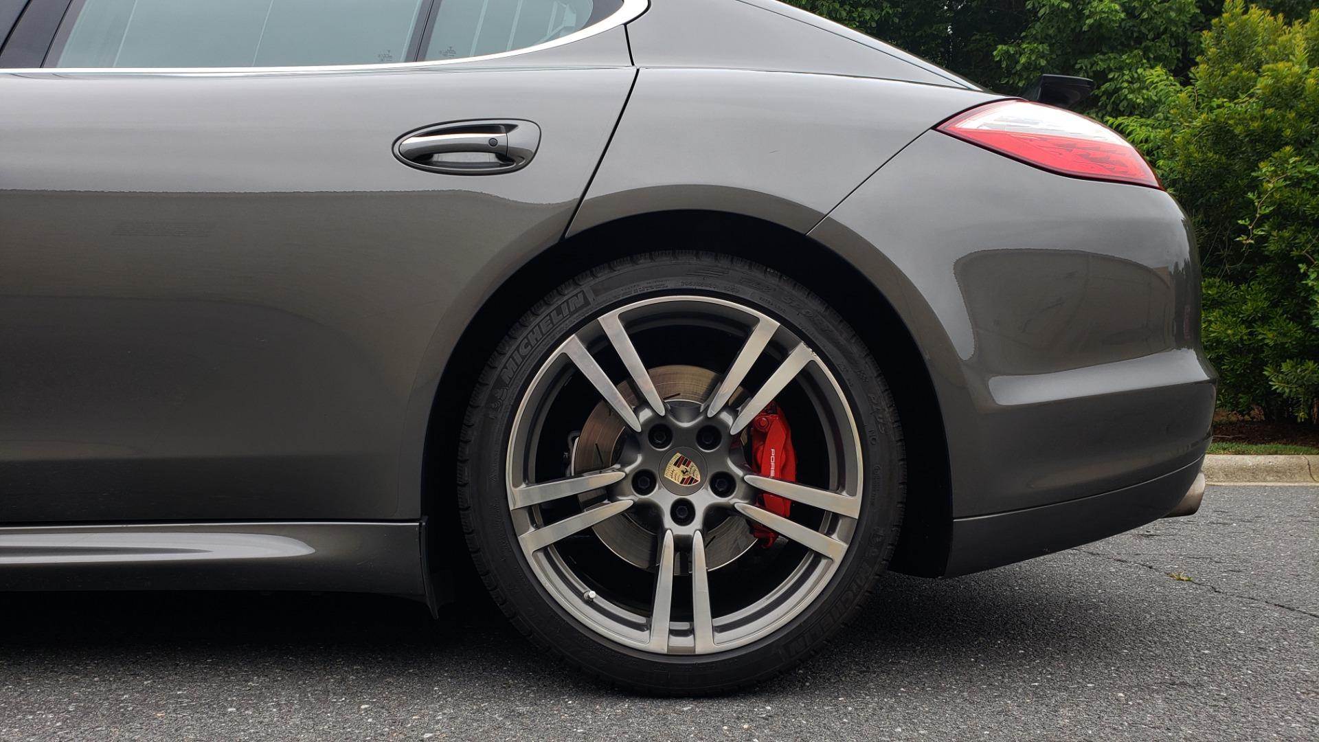 Used 2013 Porsche PANAMERA TURBO 4.8L V8 / AWD / NAV / SUNROOF / LCA / PARK ASST / BURMESTER for sale $45,995 at Formula Imports in Charlotte NC 28227 89