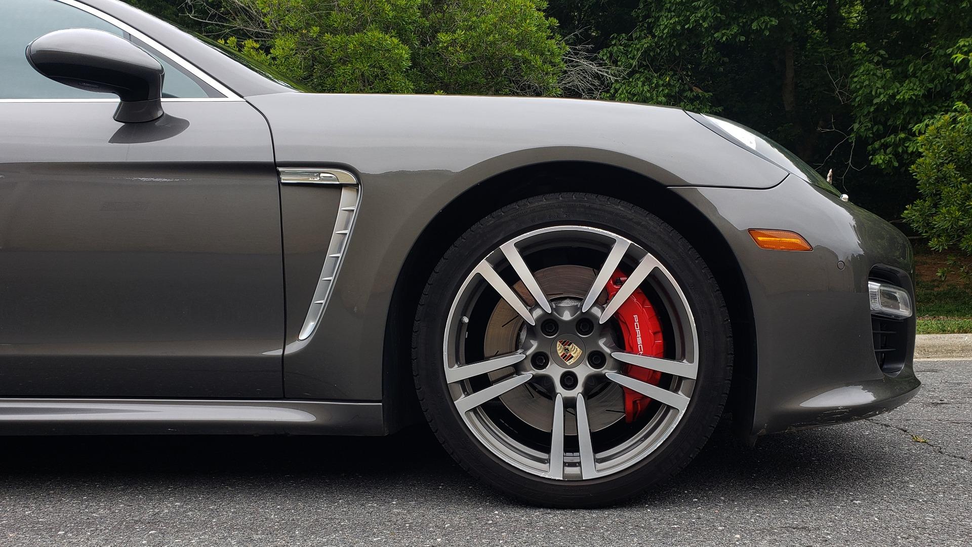 Used 2013 Porsche PANAMERA TURBO 4.8L V8 / AWD / NAV / SUNROOF / LCA / PARK ASST / BURMESTER for sale $45,995 at Formula Imports in Charlotte NC 28227 91