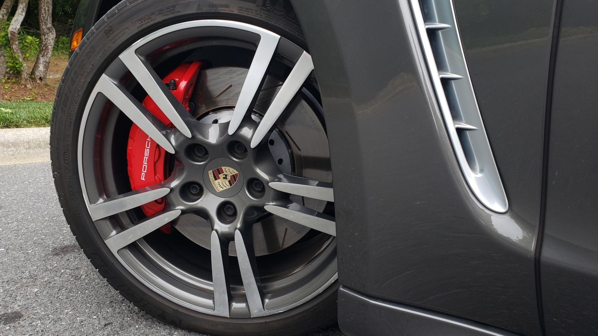 Used 2013 Porsche PANAMERA TURBO 4.8L V8 / AWD / NAV / SUNROOF / LCA / PARK ASST / BURMESTER for sale $45,995 at Formula Imports in Charlotte NC 28227 96