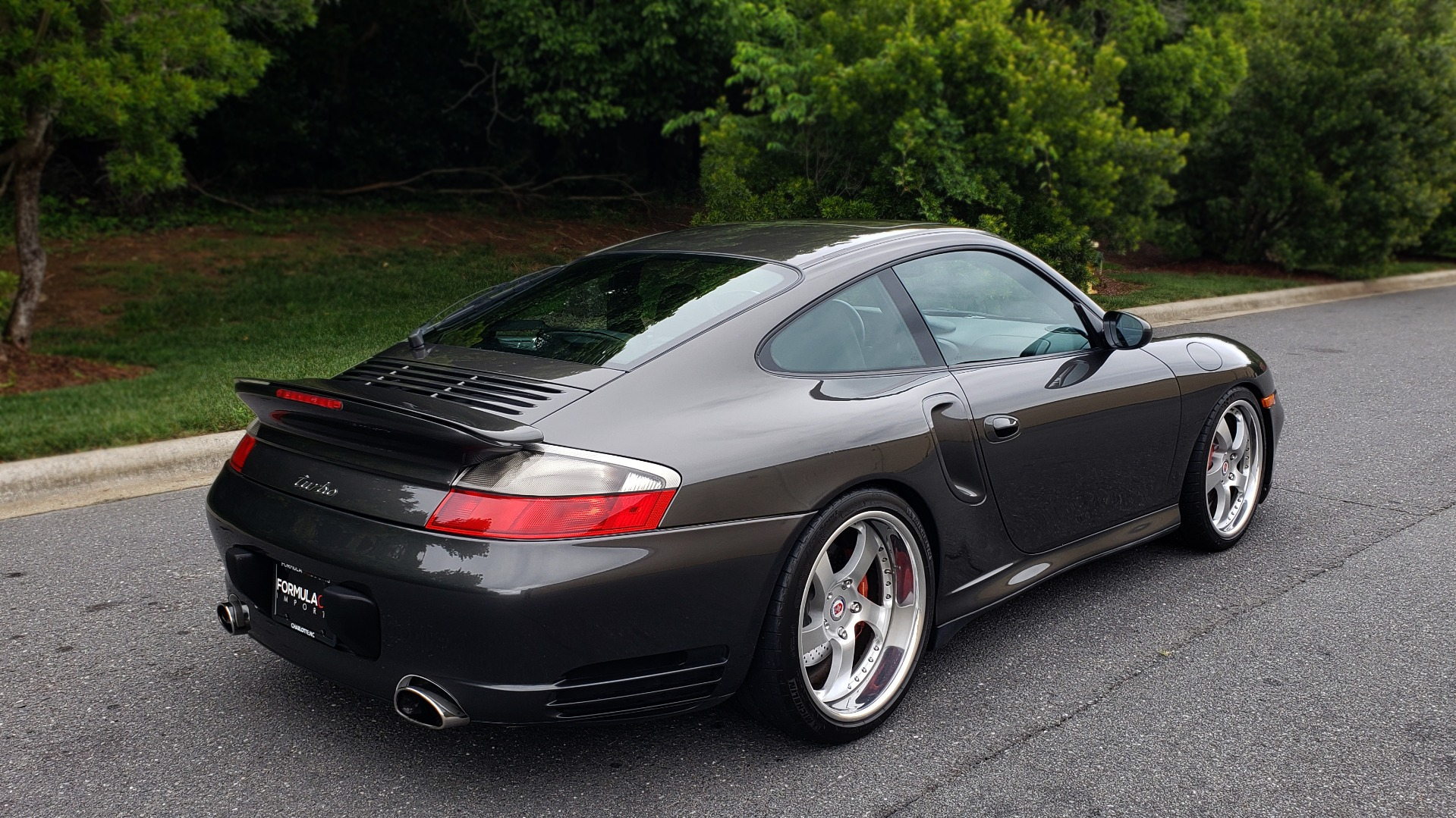 Used 2002 Porsche 911 CARRERA TURBO COUPE / 6-SPD MANUAL / PERF UPGRADES & CUSTOM TUNE for sale Sold at Formula Imports in Charlotte NC 28227 11