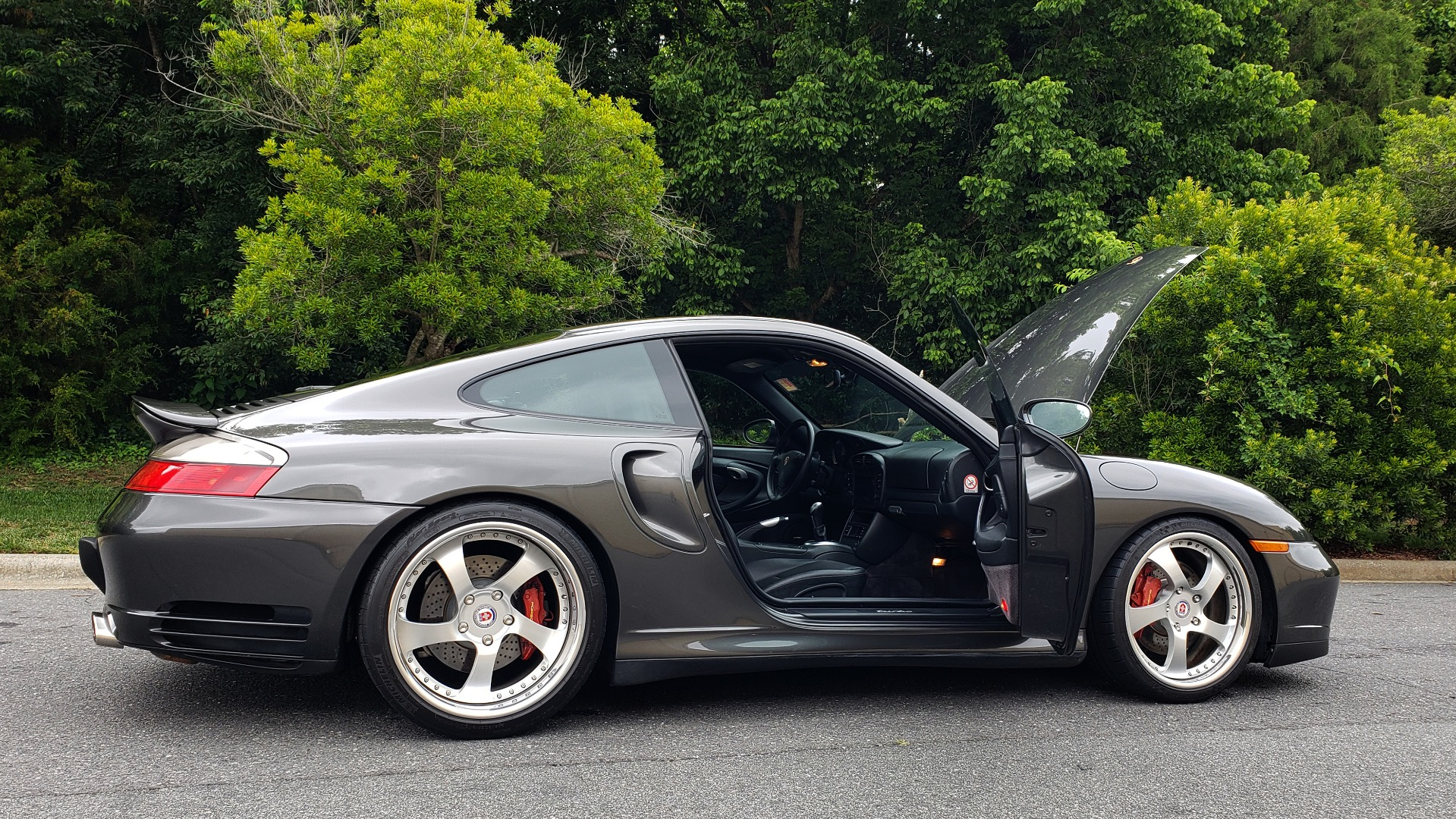 Used 2002 Porsche 911 CARRERA TURBO COUPE / 6-SPD MANUAL / PERF UPGRADES & CUSTOM TUNE for sale Sold at Formula Imports in Charlotte NC 28227 12