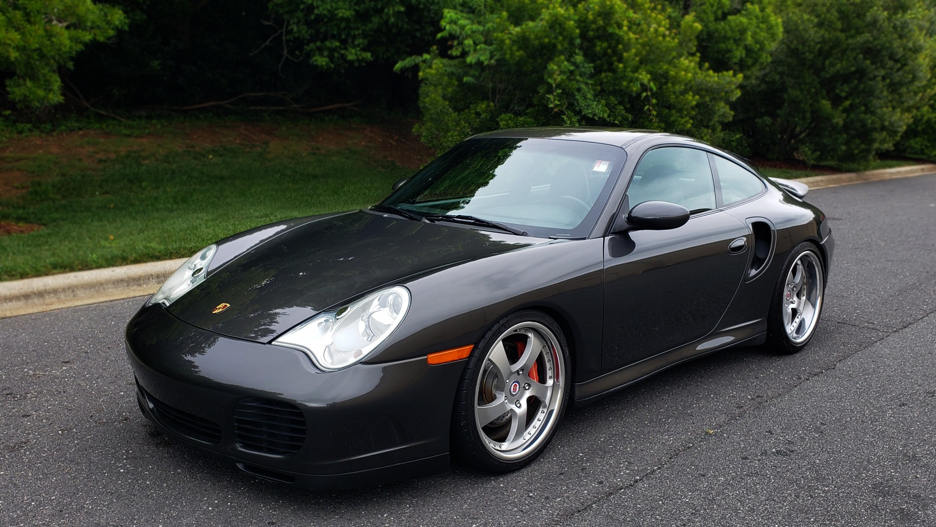 Used 2002 Porsche 911 CARRERA TURBO COUPE / 6-SPD MANUAL / PERF UPGRADES & CUSTOM TUNE for sale Sold at Formula Imports in Charlotte NC 28227 2