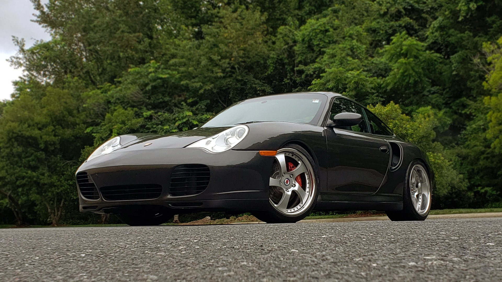 Used 2002 Porsche 911 CARRERA TURBO COUPE / 6-SPD MANUAL / PERF UPGRADES & CUSTOM TUNE for sale Sold at Formula Imports in Charlotte NC 28227 3