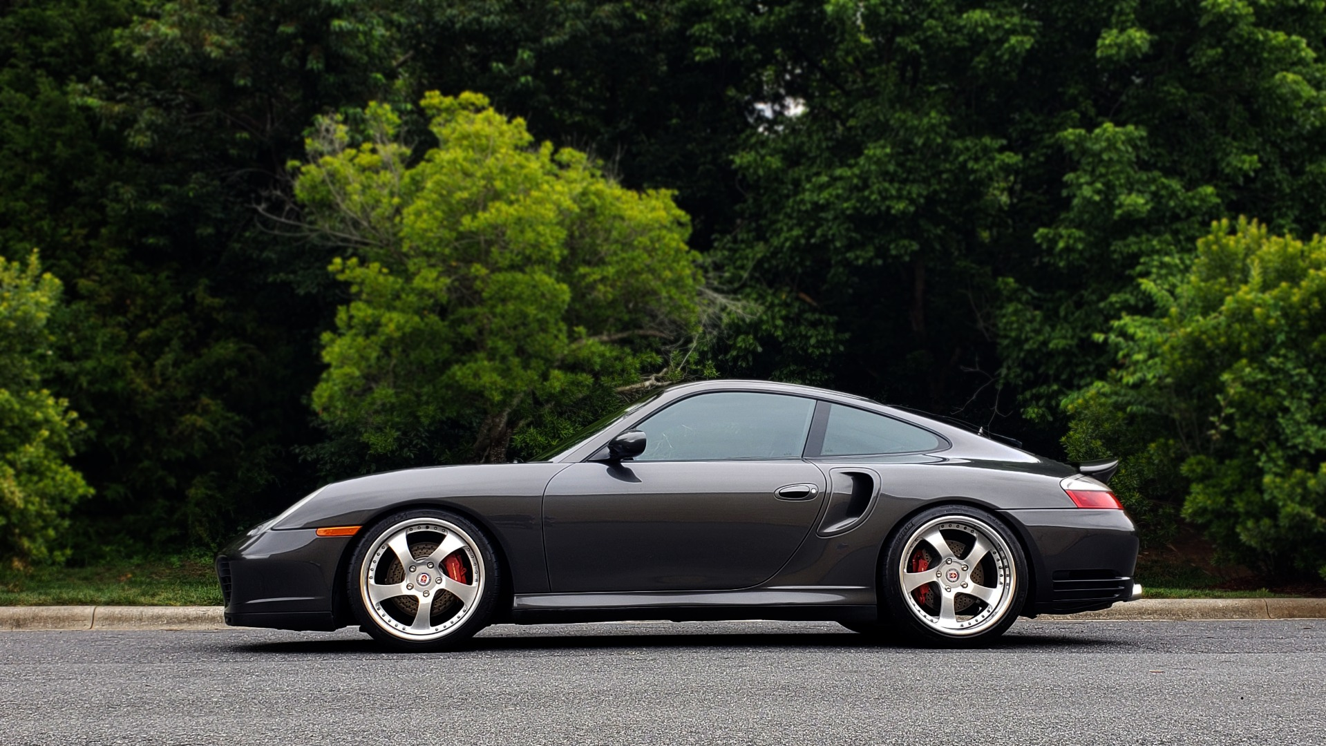 Used 2002 Porsche 911 CARRERA TURBO COUPE / 6-SPD MANUAL / PERF UPGRADES & CUSTOM TUNE for sale Sold at Formula Imports in Charlotte NC 28227 4