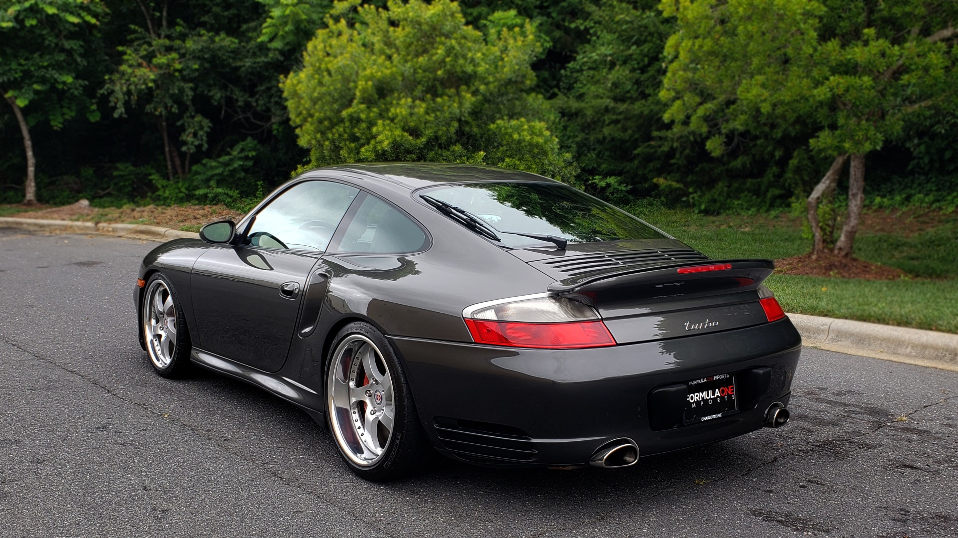 Used 2002 Porsche 911 CARRERA TURBO COUPE / 6-SPD MANUAL / PERF UPGRADES & CUSTOM TUNE for sale Sold at Formula Imports in Charlotte NC 28227 5