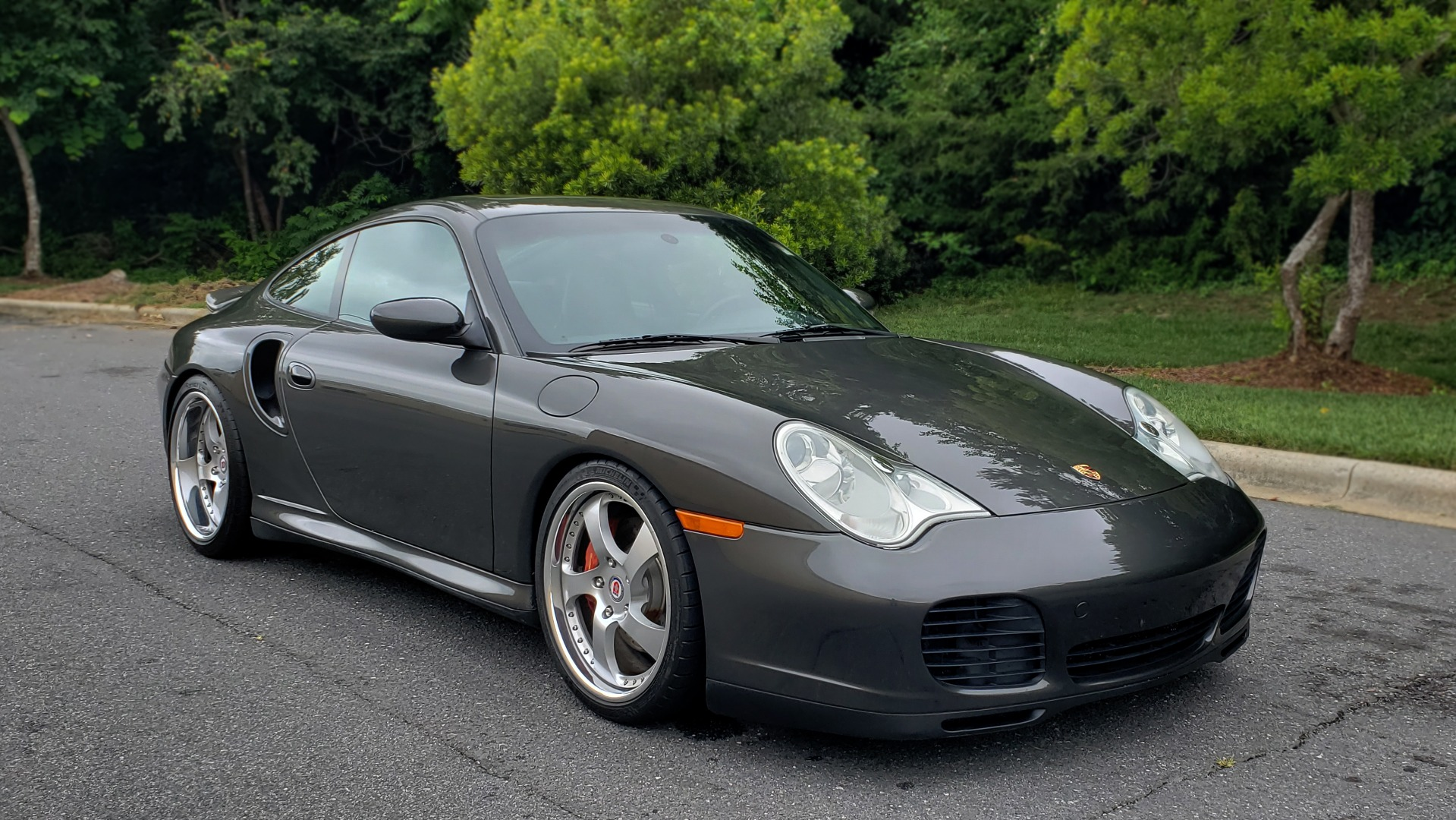 Used 2002 Porsche 911 CARRERA TURBO COUPE / 6-SPD MANUAL / PERF UPGRADES & CUSTOM TUNE for sale Sold at Formula Imports in Charlotte NC 28227 6