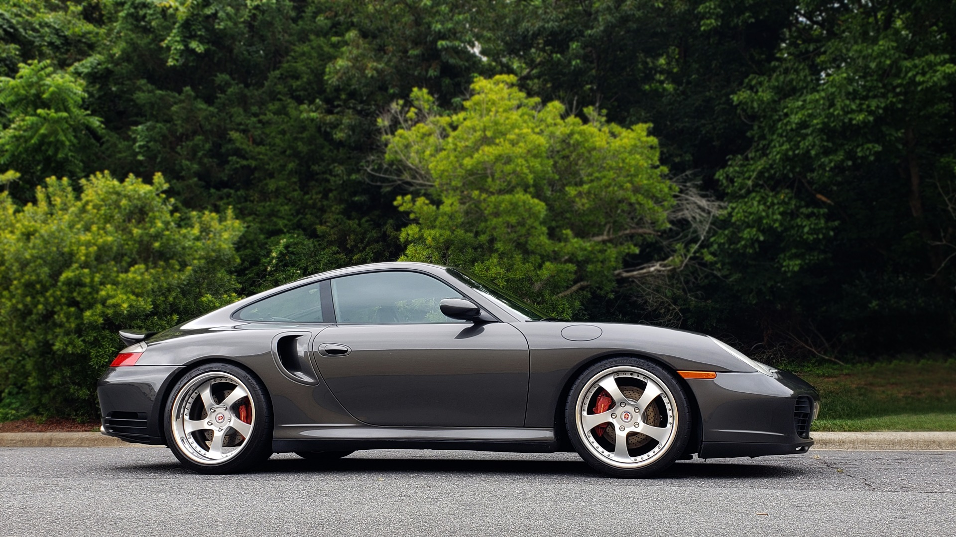Used 2002 Porsche 911 CARRERA TURBO COUPE / 6-SPD MANUAL / PERF UPGRADES & CUSTOM TUNE for sale Sold at Formula Imports in Charlotte NC 28227 7