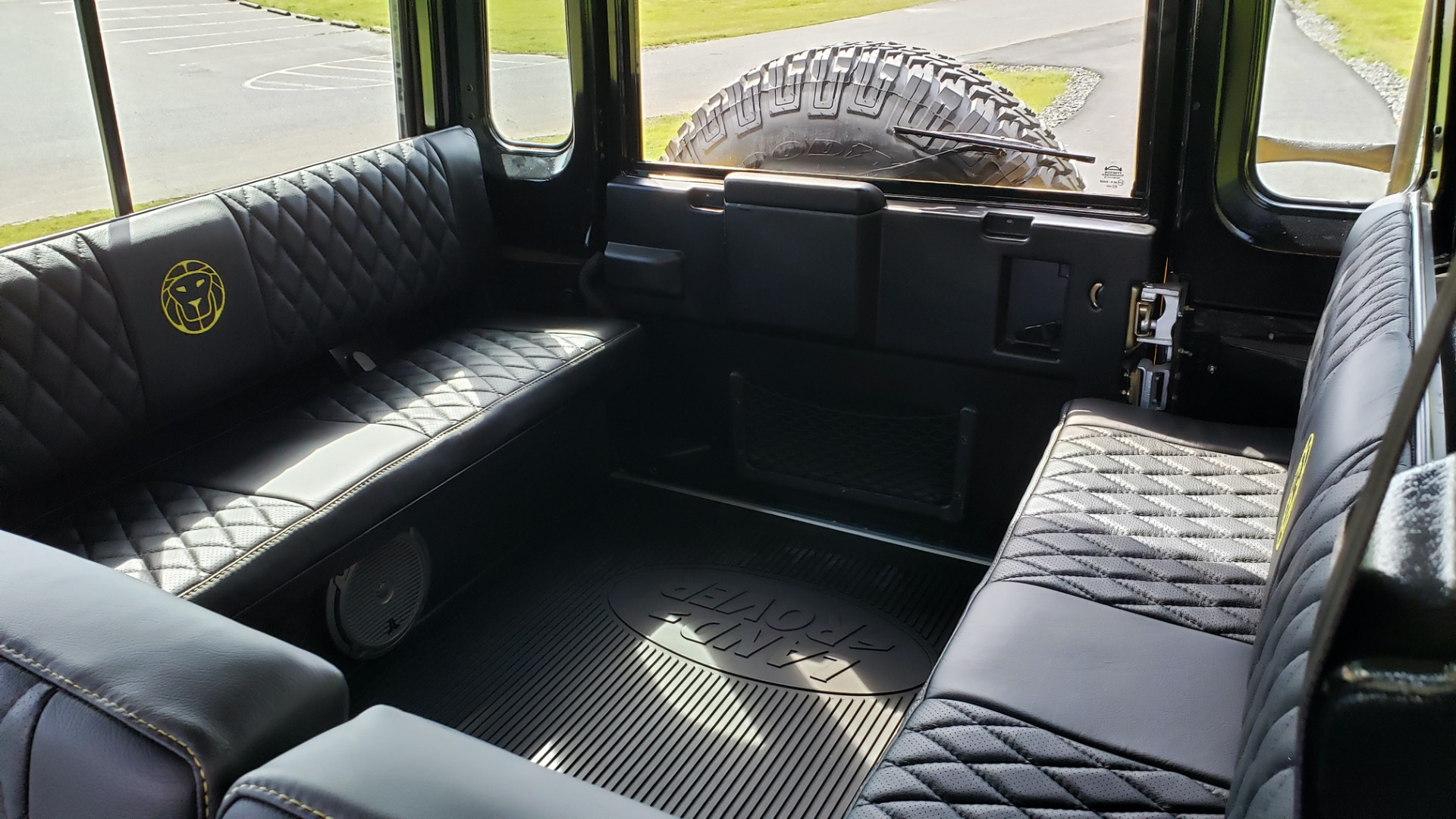 Used 1989 Land Rover Defender 110 4x4 Custom / Fully Restored / Fuel Injected V8 / 5-Spd Man for sale $60,000 at Formula Imports in Charlotte NC 28227 39