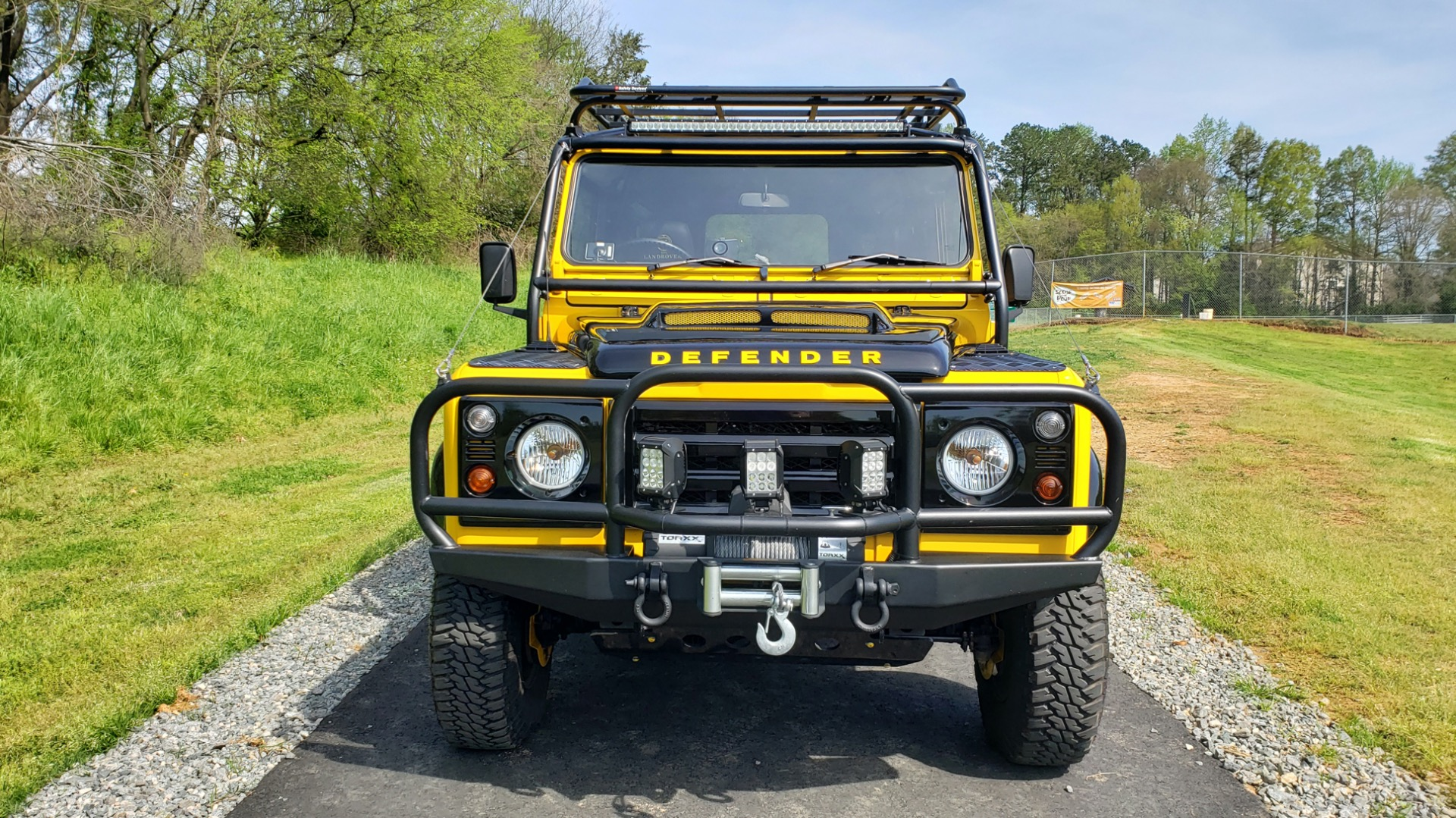 Used 1989 Land Rover Defender 110 4x4 Custom / Fully Restored / Fuel Injected V8 / 5-Spd Man for sale $60,000 at Formula Imports in Charlotte NC 28227 49