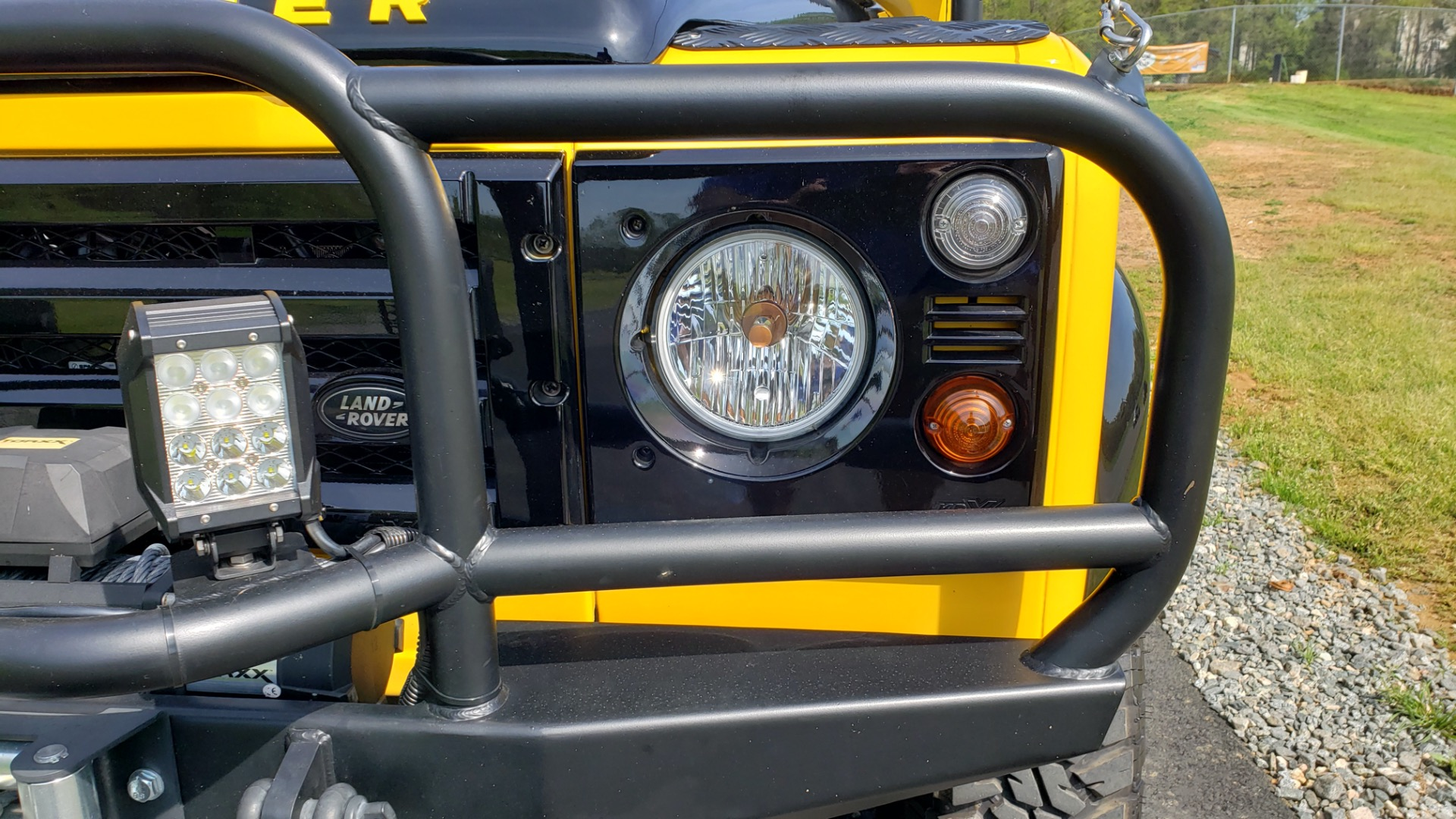 Used 1989 Land Rover Defender 110 4x4 Custom / Fully Restored / Fuel Injected V8 / 5-Spd Man for sale $60,000 at Formula Imports in Charlotte NC 28227 51