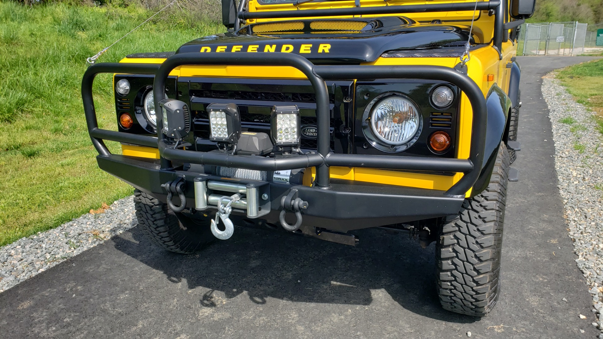 Used 1989 Land Rover Defender 110 4x4 Custom / Fully Restored / Fuel Injected V8 / 5-Spd Man for sale $60,000 at Formula Imports in Charlotte NC 28227 52