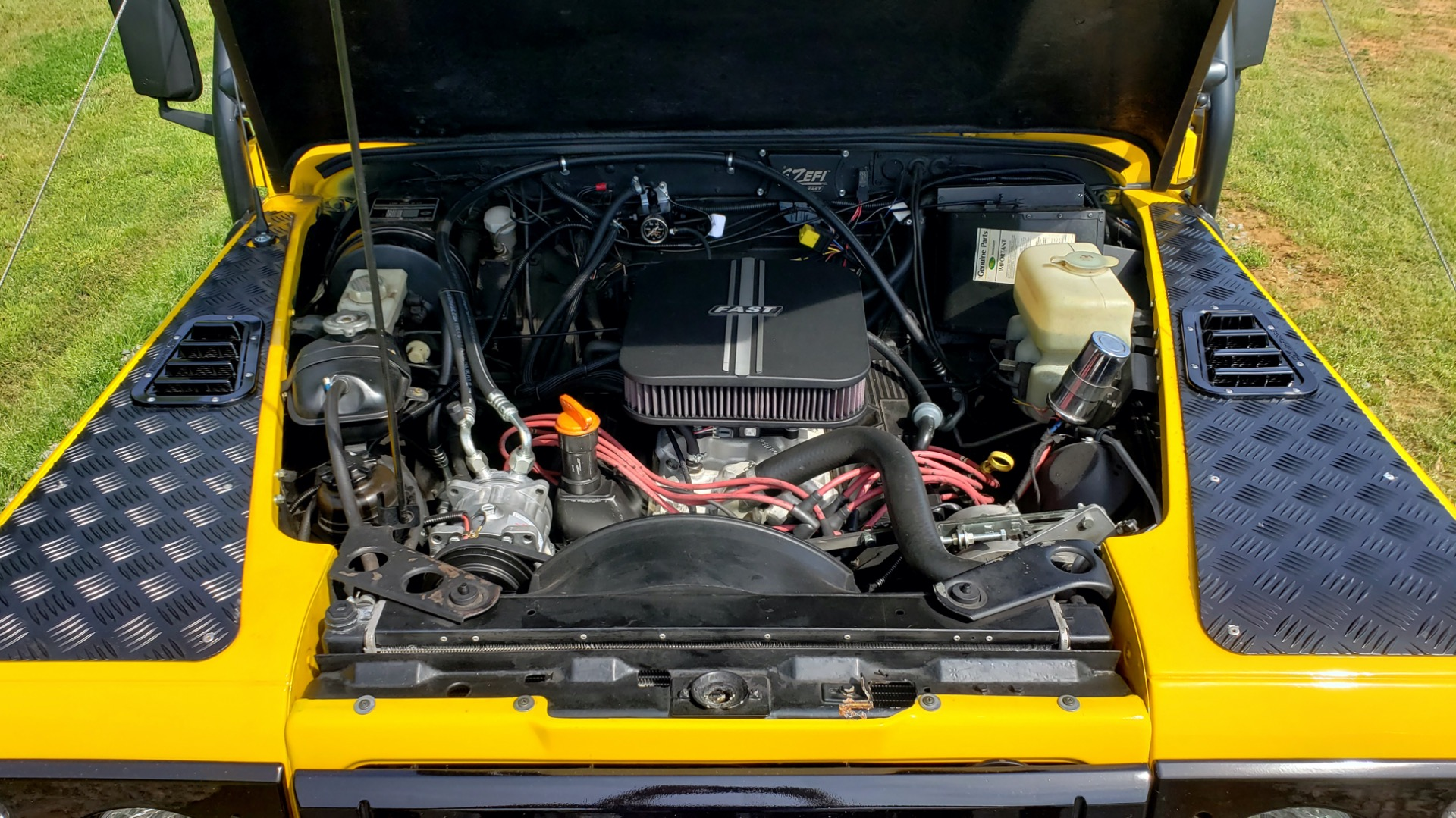 Used 1989 Land Rover Defender 110 4x4 Custom / Fully Restored / Fuel Injected V8 / 5-Spd Man for sale $60,000 at Formula Imports in Charlotte NC 28227 66