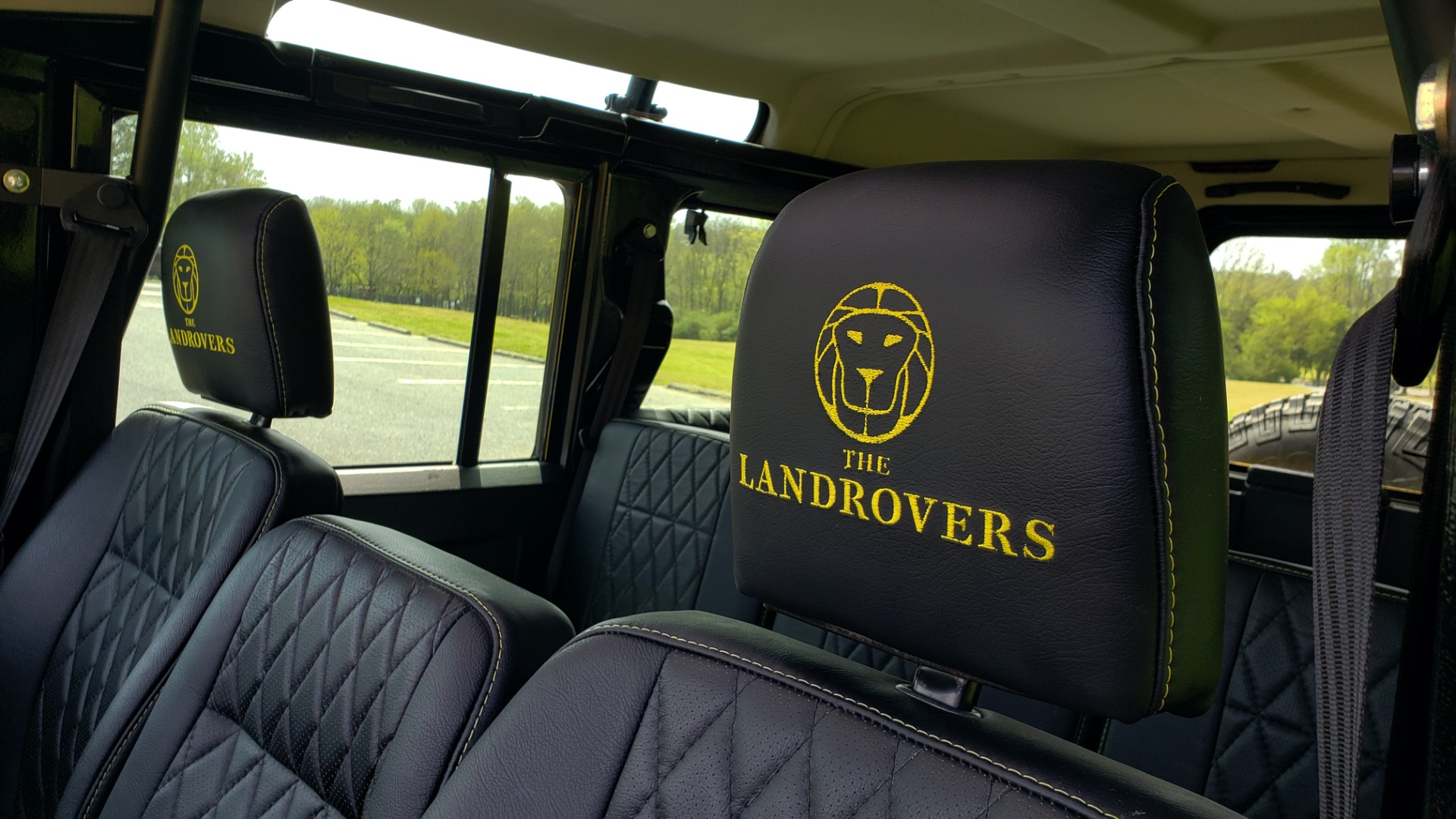 Used 1989 Land Rover Defender 110 4x4 Custom / Fully Restored / Fuel Injected V8 / 5-Spd Man for sale $60,000 at Formula Imports in Charlotte NC 28227 82