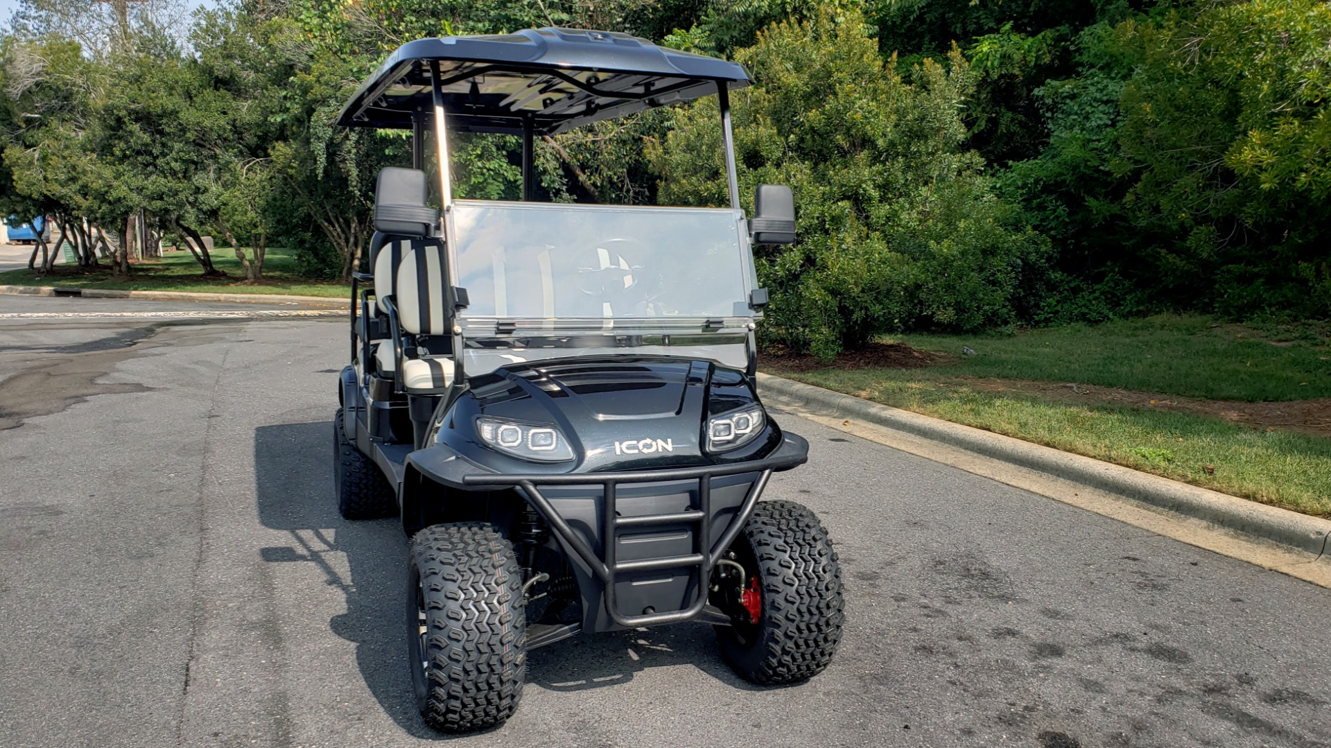 Used 2020 ICON I60L ELECTRIC CAR / 3-ROW / 6-PASSENGER / LIFTED / 28MPH / NEW for sale $10,995 at Formula Imports in Charlotte NC 28227 28