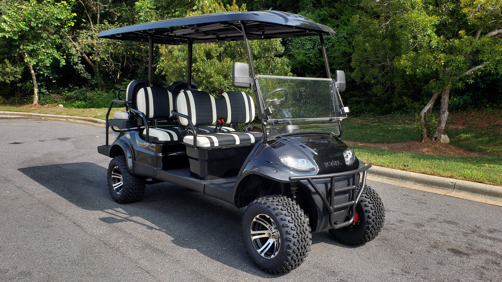 Used 2020 ICON I60L ELECTRIC CAR / 3-ROW / 6-PASSENGER / LIFTED / 28MPH / NEW for sale $10,995 at Formula Imports in Charlotte NC 28227 4