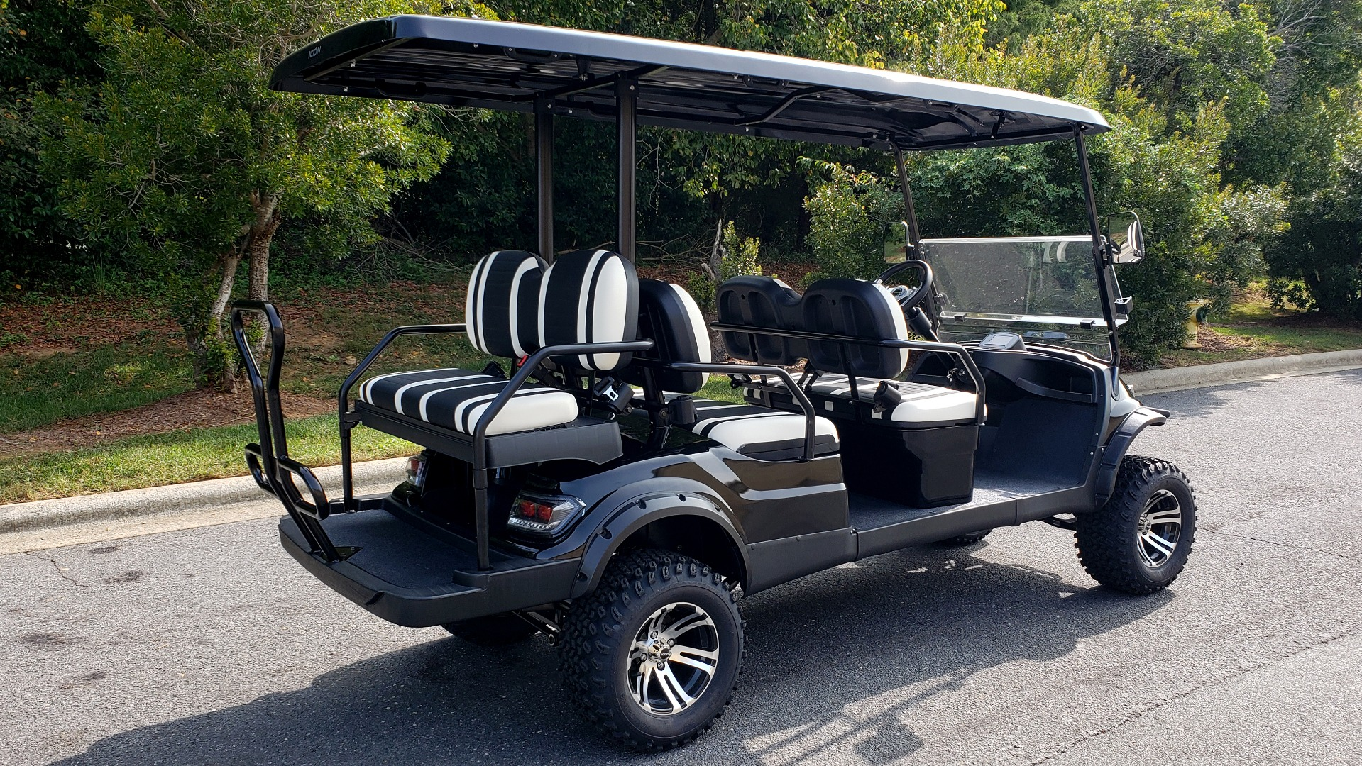 Used 2020 ICON I60L ELECTRIC CAR / 3-ROW / 6-PASSENGER / LIFTED / 28MPH / NEW for sale $10,995 at Formula Imports in Charlotte NC 28227 6