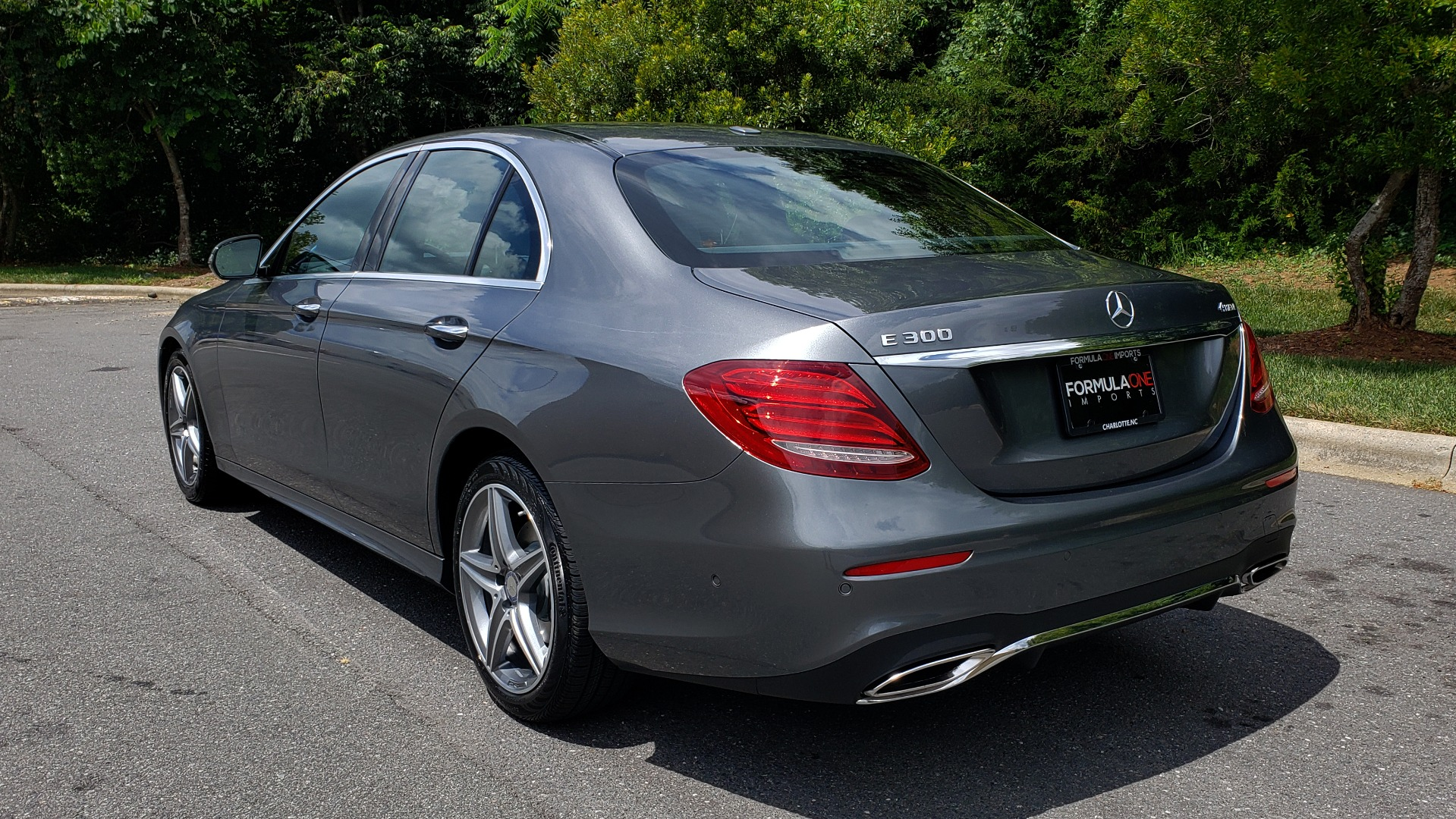 Used 2017 Mercedes-Benz E-Class E 300 4MATIC PREMIUM / SPORT / NAV / BURMESTER / HTD STS / REARVIEW for sale $30,495 at Formula Imports in Charlotte NC 28227 3