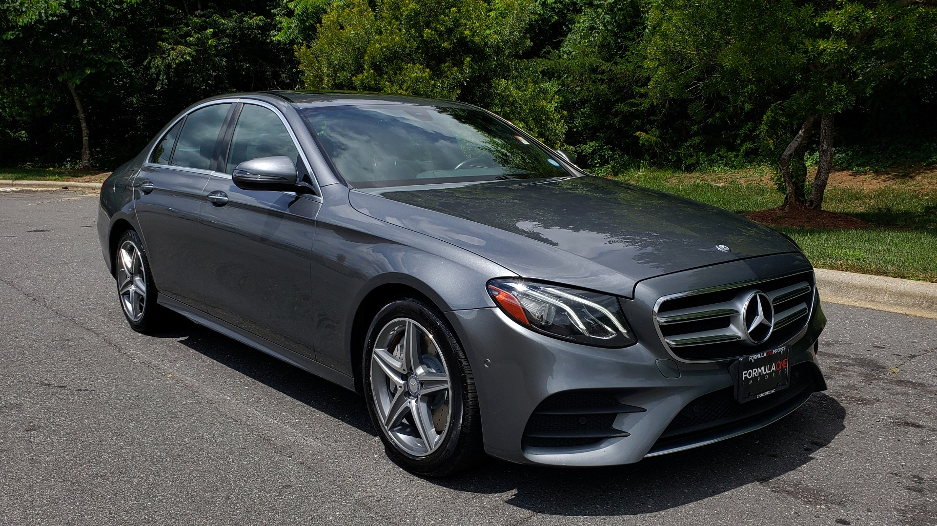 Used 2017 Mercedes-Benz E-CLASS E 300 SPORT 4MATIC / PREM PKG / NAV / SUNROOF / BURMESTER SND / REARVIEW for sale Sold at Formula Imports in Charlotte NC 28227 4