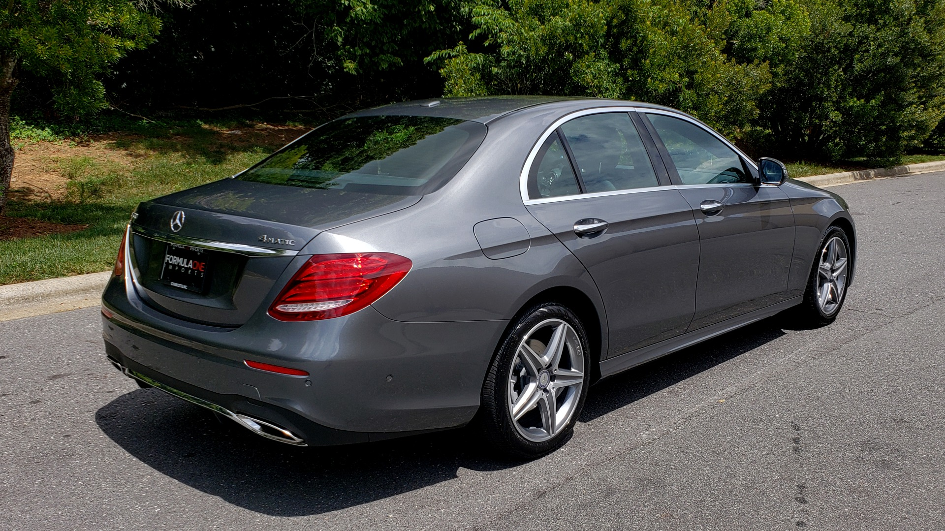 Used 2017 Mercedes-Benz E-CLASS E 300 SPORT 4MATIC / PREM PKG / NAV / SUNROOF / BURMESTER SND / REARVIEW for sale Sold at Formula Imports in Charlotte NC 28227 6