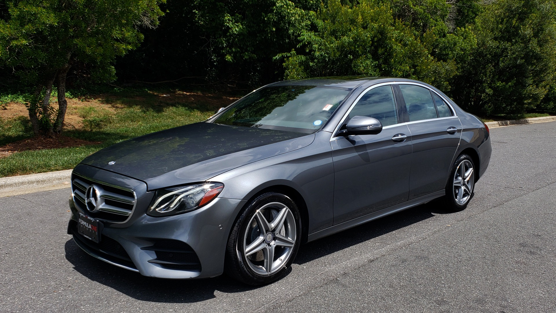 Used 2017 Mercedes-Benz E-Class E 300 4MATIC PREMIUM / SPORT / NAV / BURMESTER / HTD STS / REARVIEW for sale $30,495 at Formula Imports in Charlotte NC 28227 1