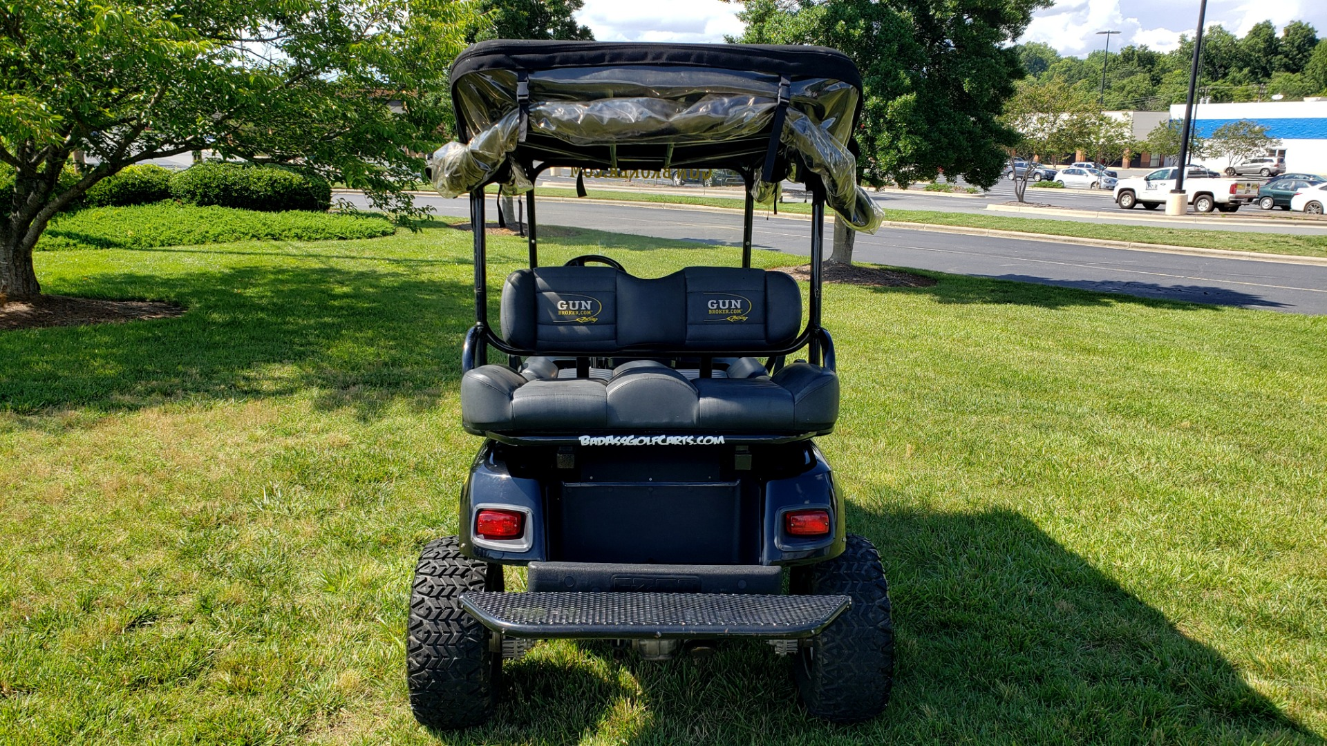 Used 2010 E-Z-GO GOLF CART 24HP / 3-ROW SEATING FOR 6 / SUSPENSION LIFT / SONY STEREO for sale $16,995 at Formula Imports in Charlotte NC 28227 10